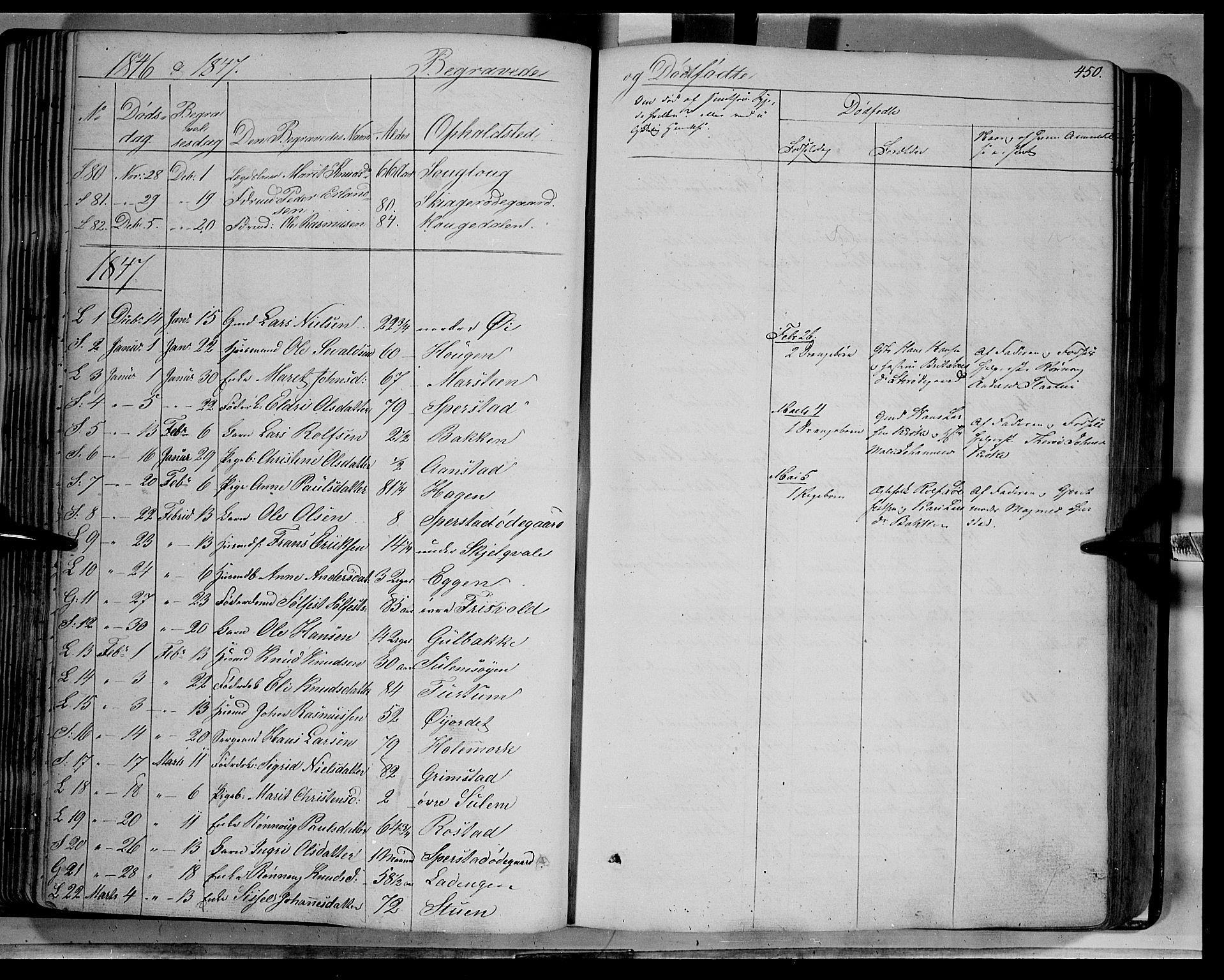 SAH, Lom prestekontor, K/L0006: Ministerialbok nr. 6B, 1837-1863, s. 450