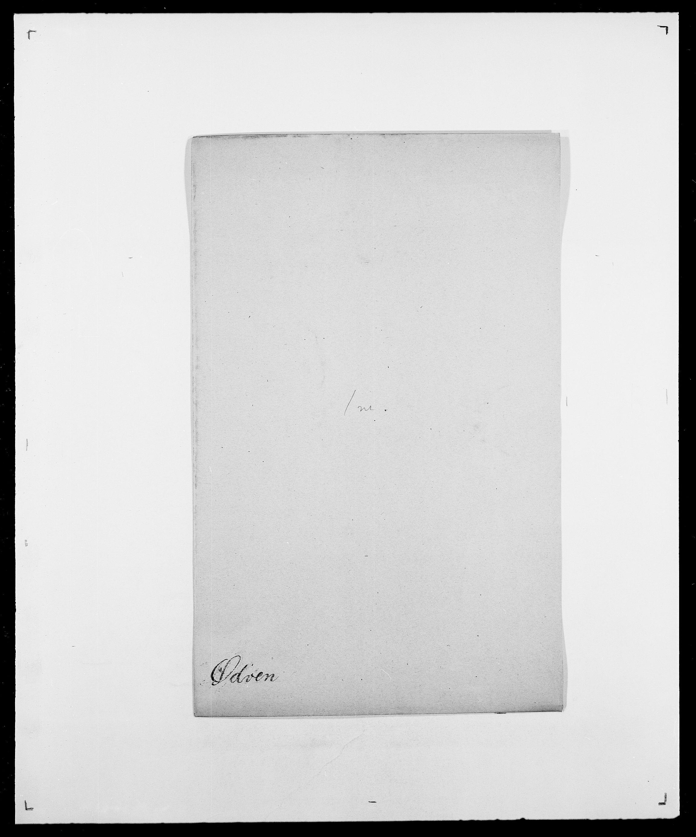 SAO, Delgobe, Charles Antoine - samling, D/Da/L0043: Wulfsberg - v. Zanten, s. 261