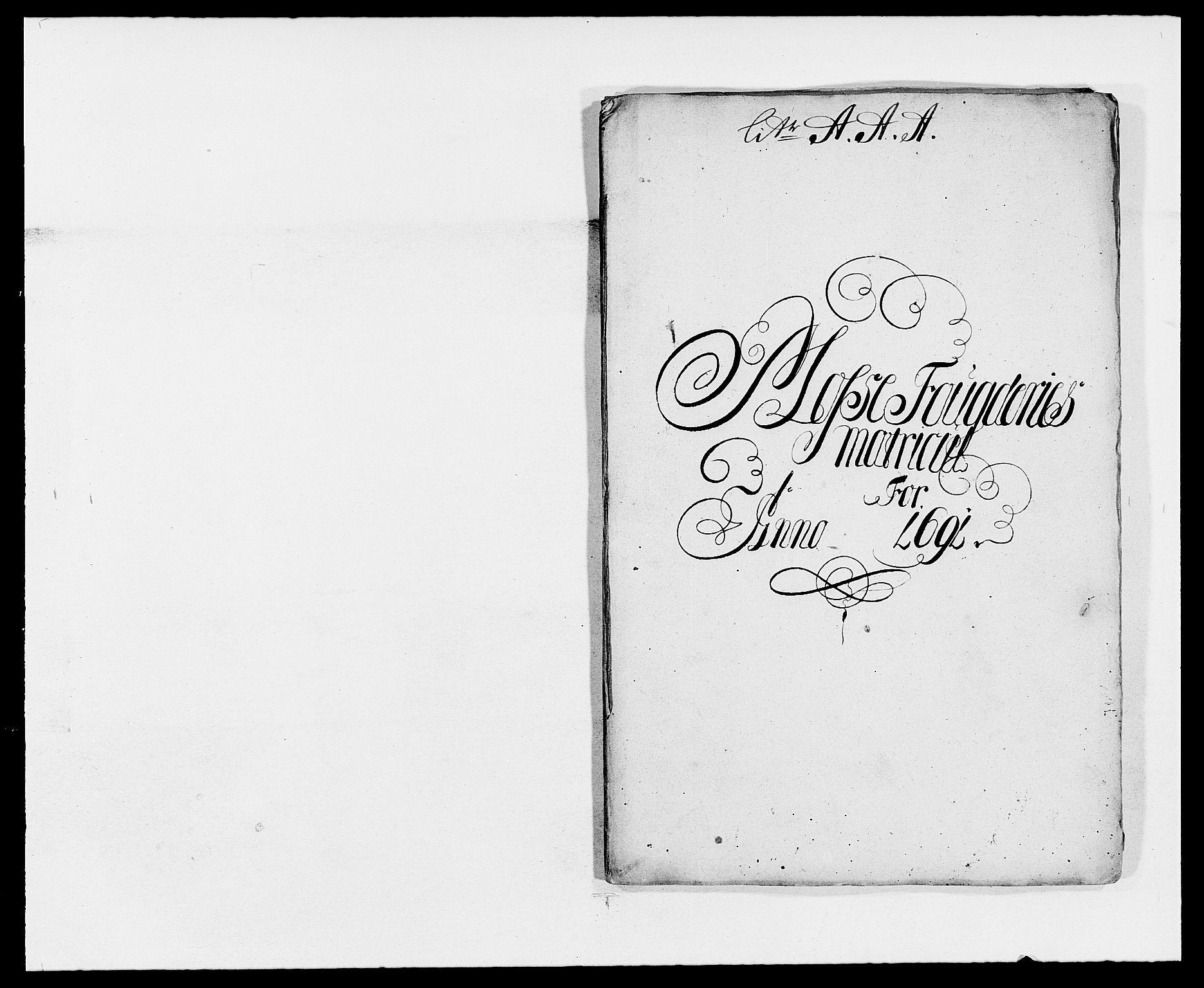 RA, Rentekammeret inntil 1814, Reviderte regnskaper, Fogderegnskap, R02/L0106: Fogderegnskap Moss og Verne kloster, 1688-1691, s. 485