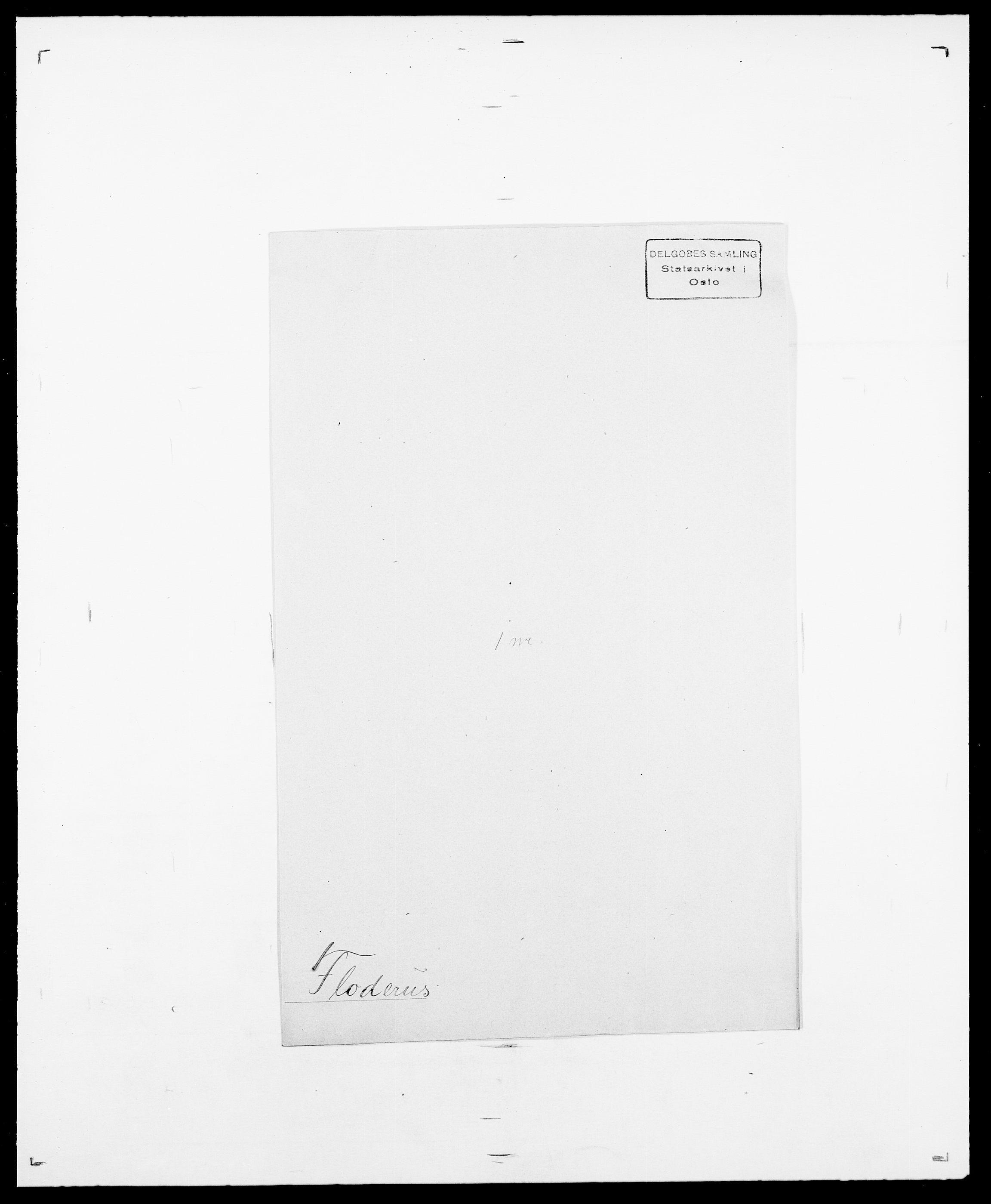 SAO, Delgobe, Charles Antoine - samling, D/Da/L0011: Fahlander - Flood, Flod, s. 681