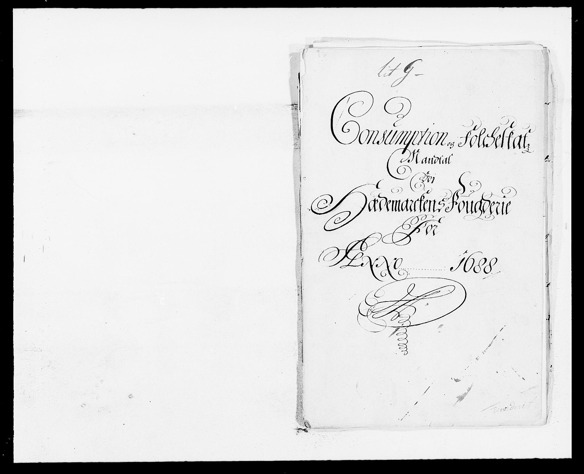 RA, Rentekammeret inntil 1814, Reviderte regnskaper, Fogderegnskap, R16/L1029: Fogderegnskap Hedmark, 1688, s. 306