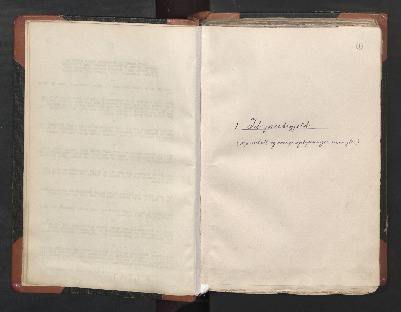 RA, Sogneprestenes manntall 1664-1666, nr. 1: Nedre Borgesyssel prosti, 1664-1666, s. 1