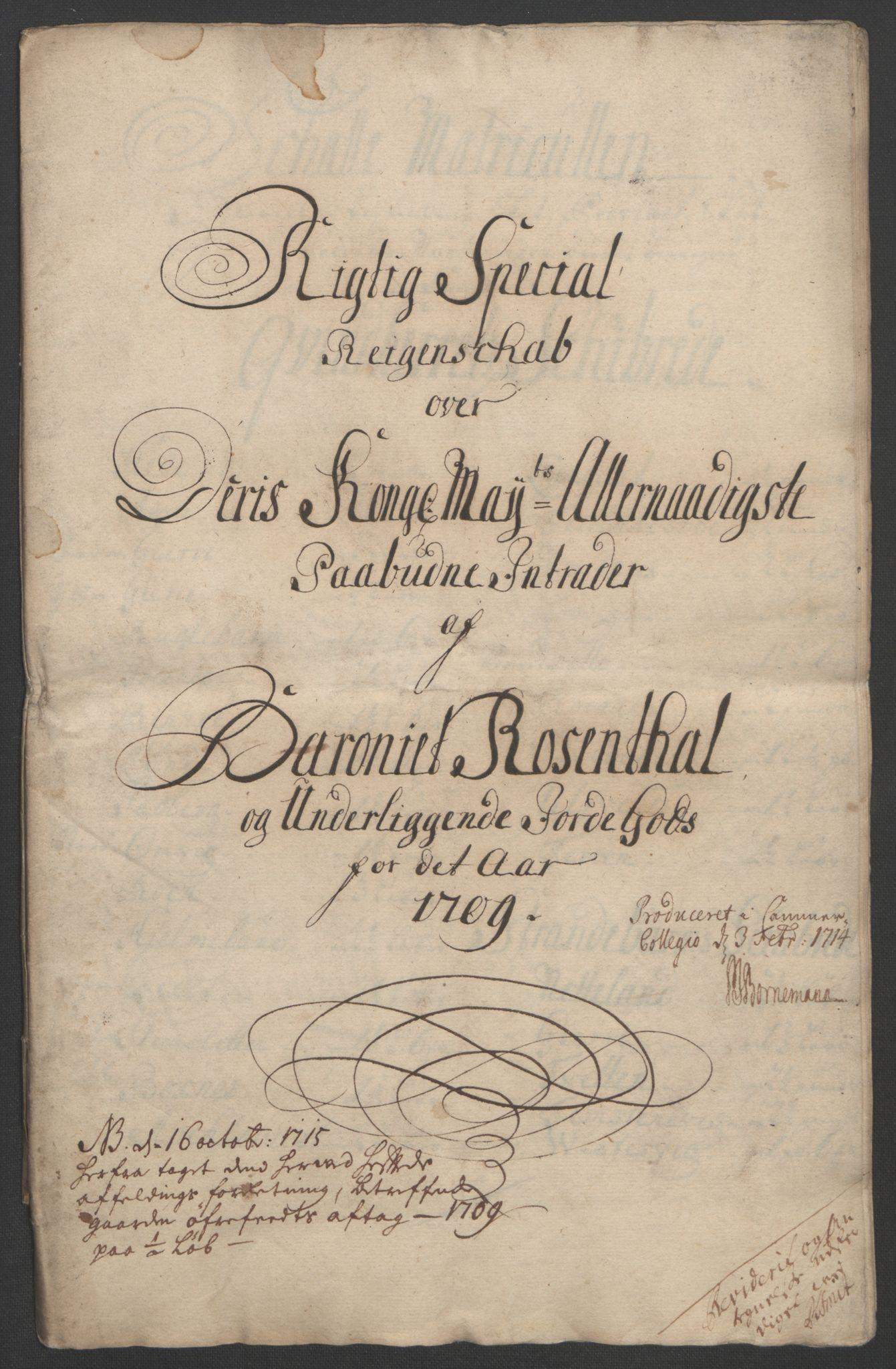 RA, Rentekammeret inntil 1814, Reviderte regnskaper, Fogderegnskap, R49/L3138: Fogderegnskap Rosendal Baroni, 1691-1714, s. 219
