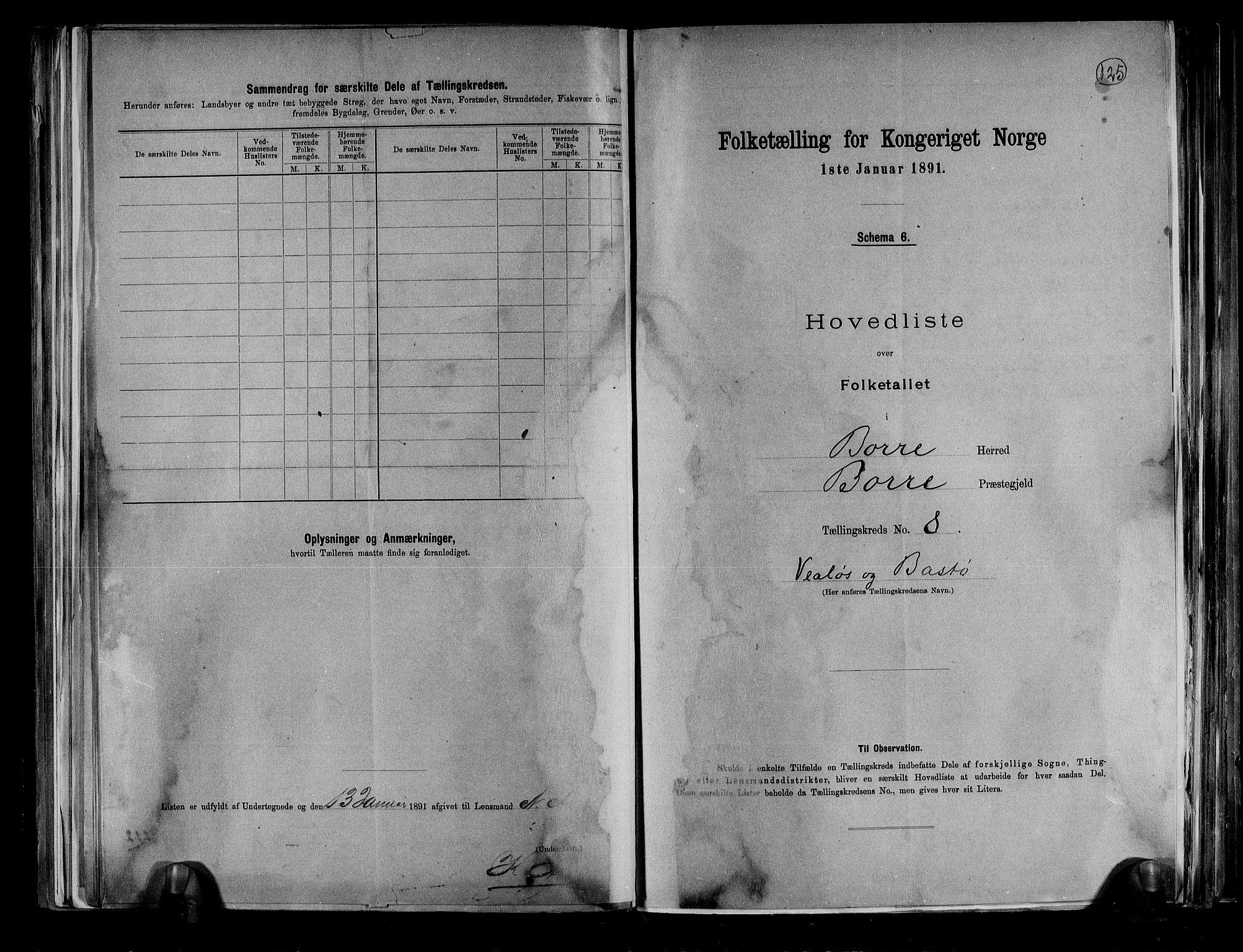 RA, Folketelling 1891 for 0717 Borre herred, 1891, s. 21