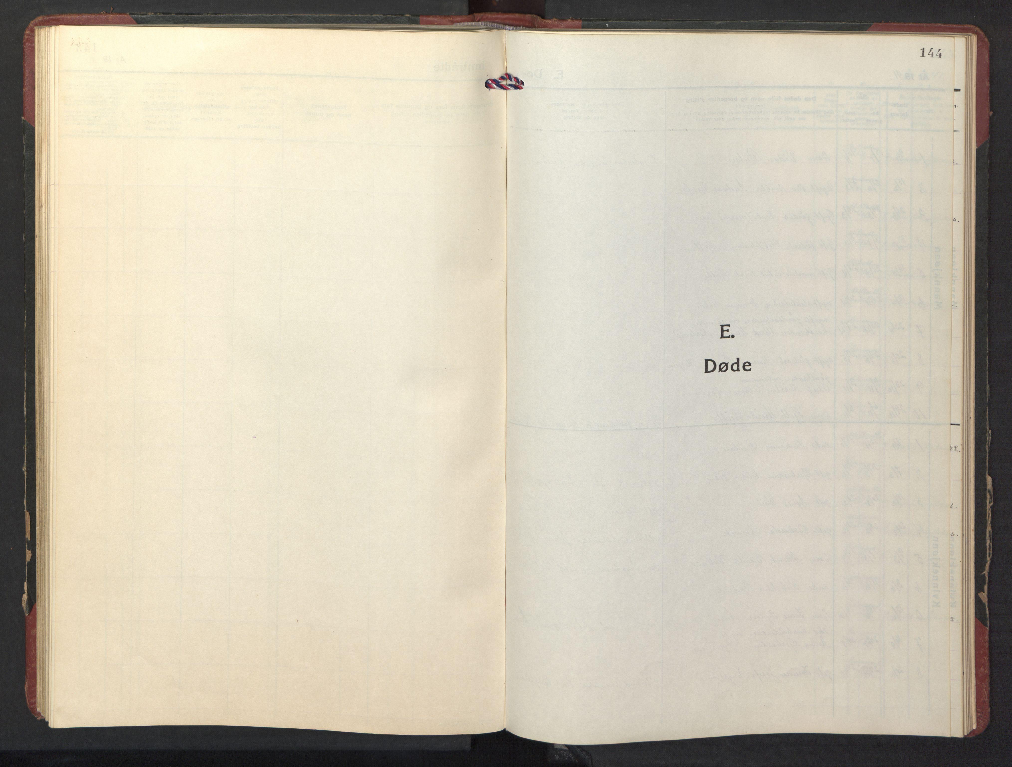 SAT, Ministerialprotokoller, klokkerbøker og fødselsregistre - Nord-Trøndelag, 770/L0592: Klokkerbok nr. 770C03, 1941-1950, s. 144