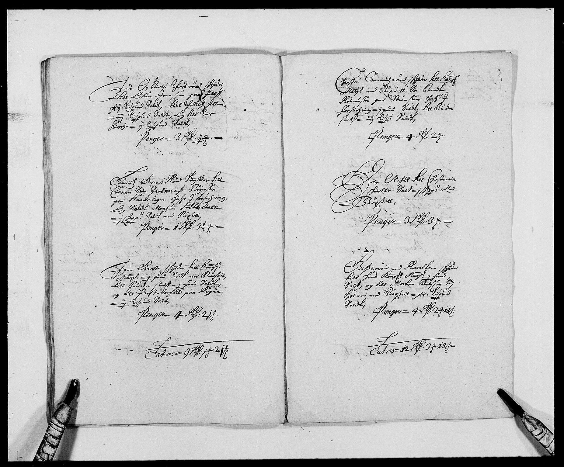 RA, Rentekammeret inntil 1814, Reviderte regnskaper, Fogderegnskap, R29/L1691: Fogderegnskap Hurum og Røyken, 1678-1681, s. 374
