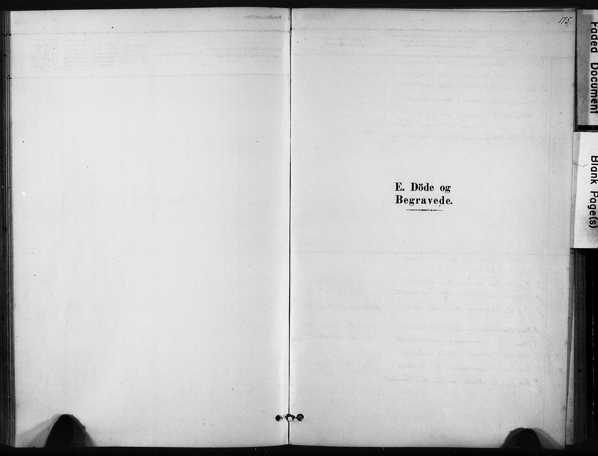 SAT, Ministerialprotokoller, klokkerbøker og fødselsregistre - Sør-Trøndelag, 631/L0512: Ministerialbok nr. 631A01, 1879-1912, s. 175