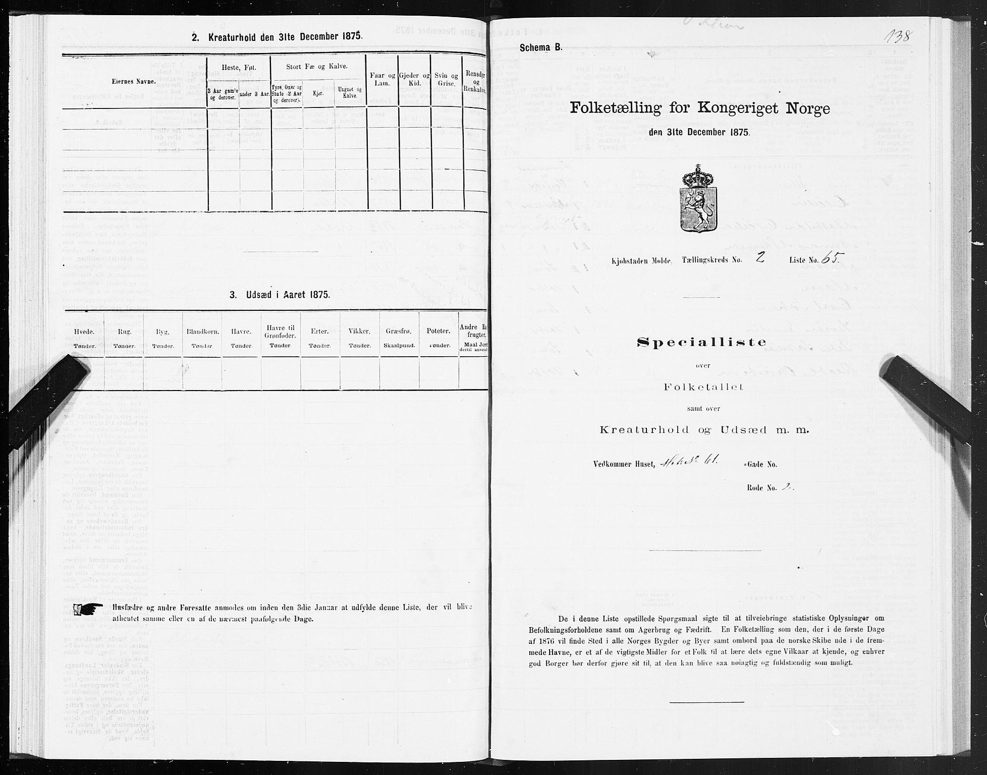 SAT, Folketelling 1875 for 1502P Molde prestegjeld, 1875, s. 1138