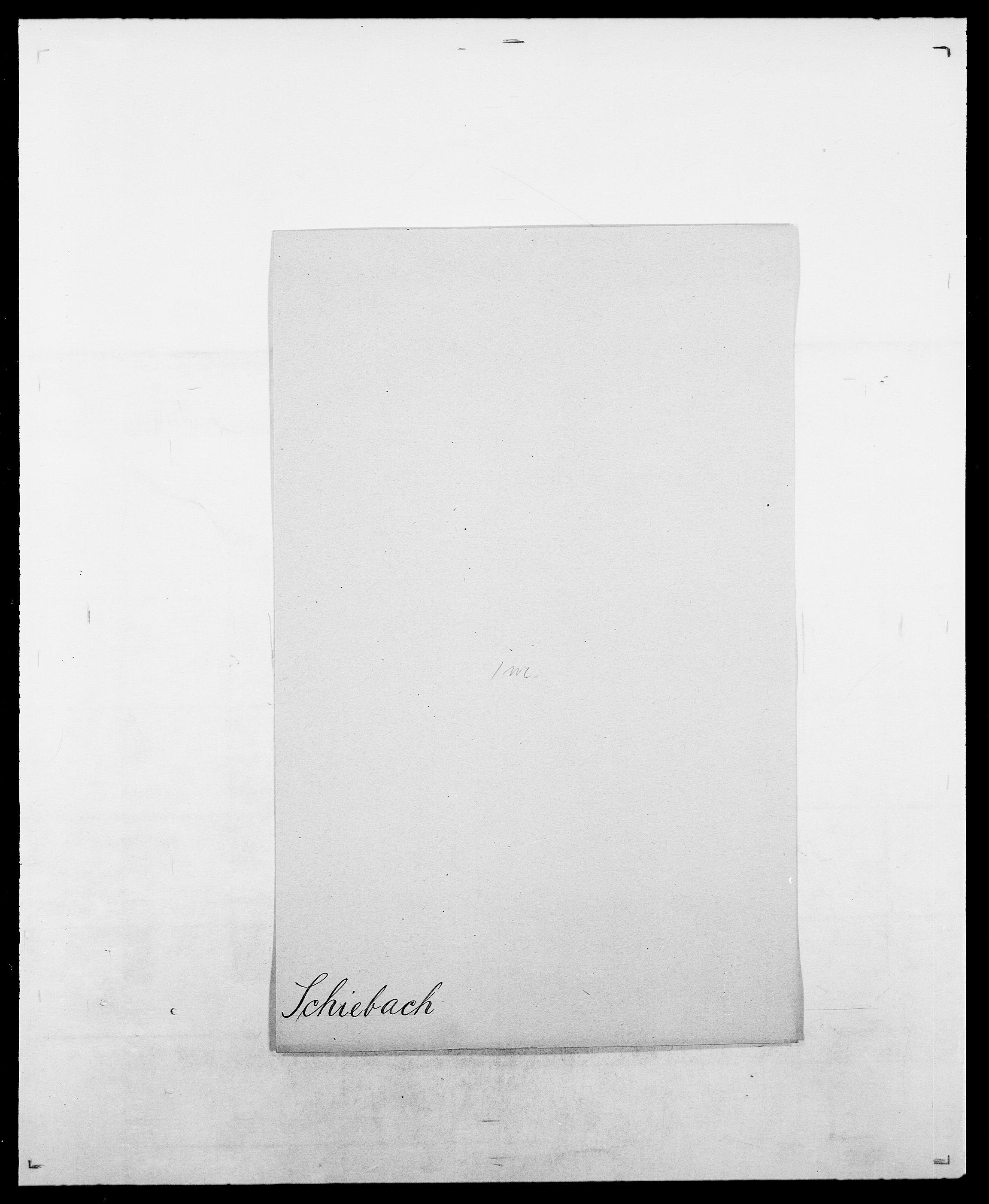 SAO, Delgobe, Charles Antoine - samling, D/Da/L0034: Saabye - Schmincke, s. 509