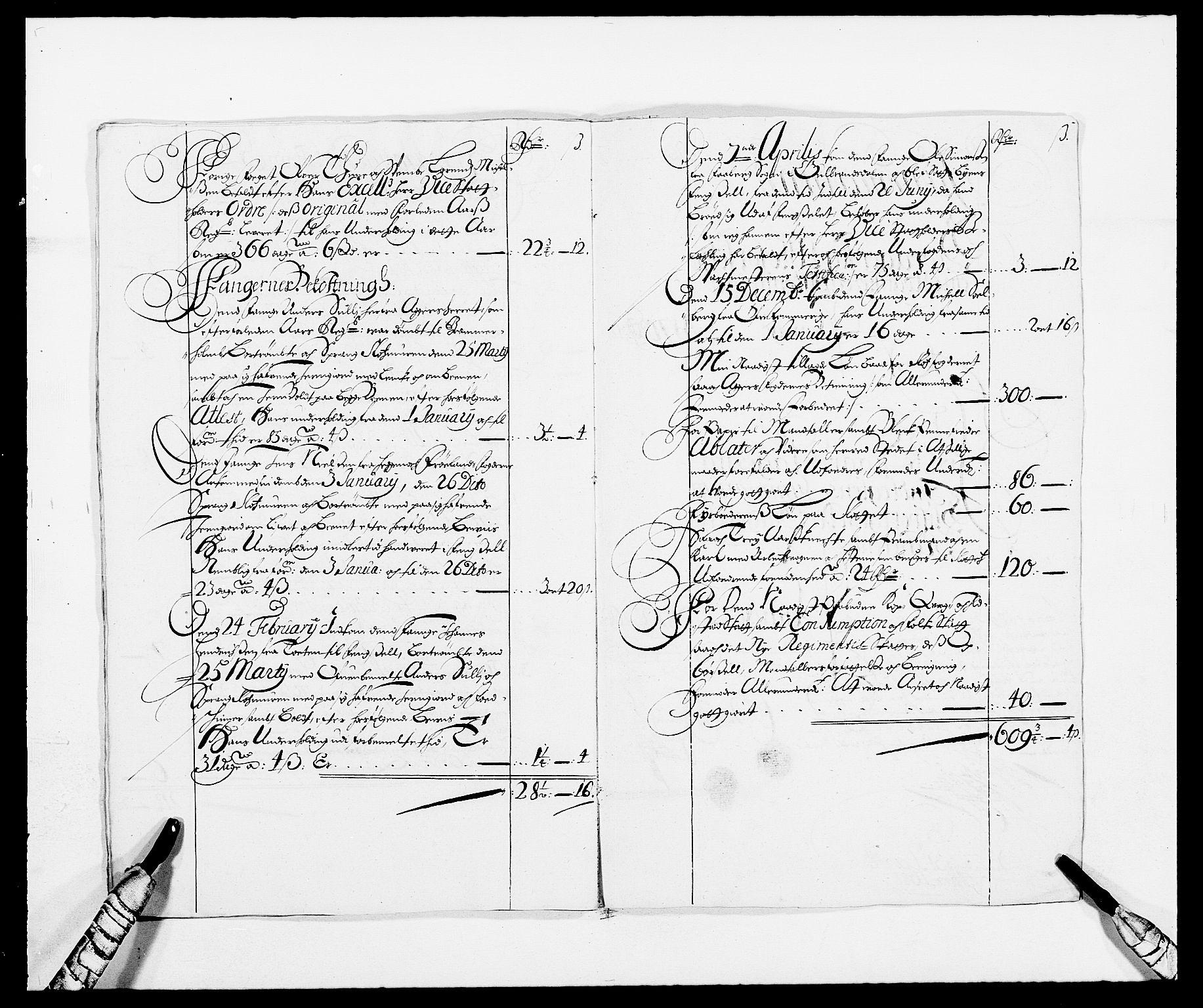 RA, Rentekammeret inntil 1814, Reviderte regnskaper, Fogderegnskap, R08/L0422: Fogderegnskap Aker, 1684-1686, s. 272