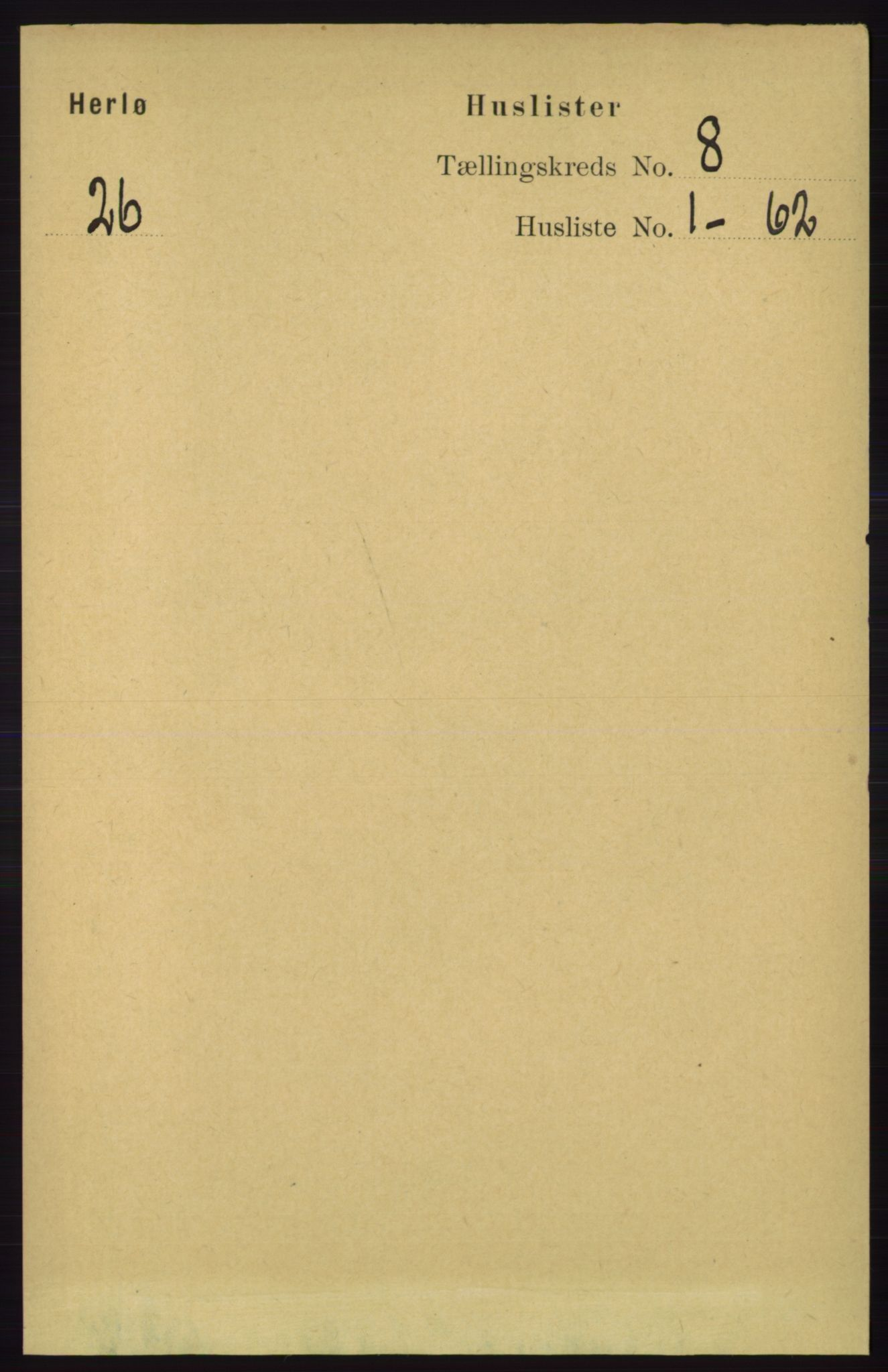 RA, Folketelling 1891 for 1258 Herdla herred, 1891, s. 3364