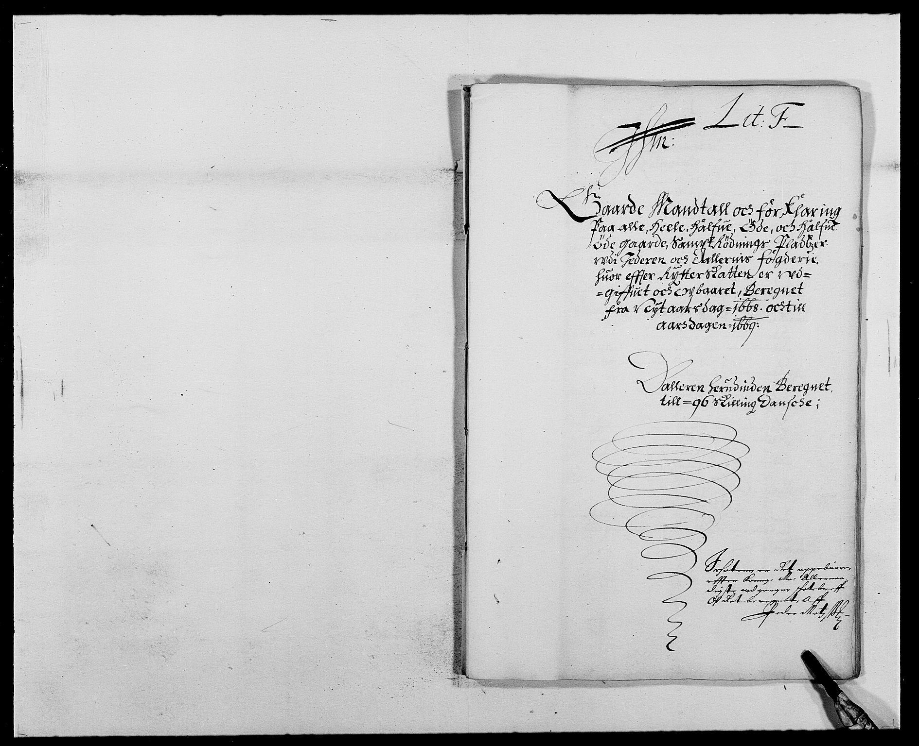 RA, Rentekammeret inntil 1814, Reviderte regnskaper, Fogderegnskap, R46/L2711: Fogderegnskap Jæren og Dalane, 1668-1670, s. 111