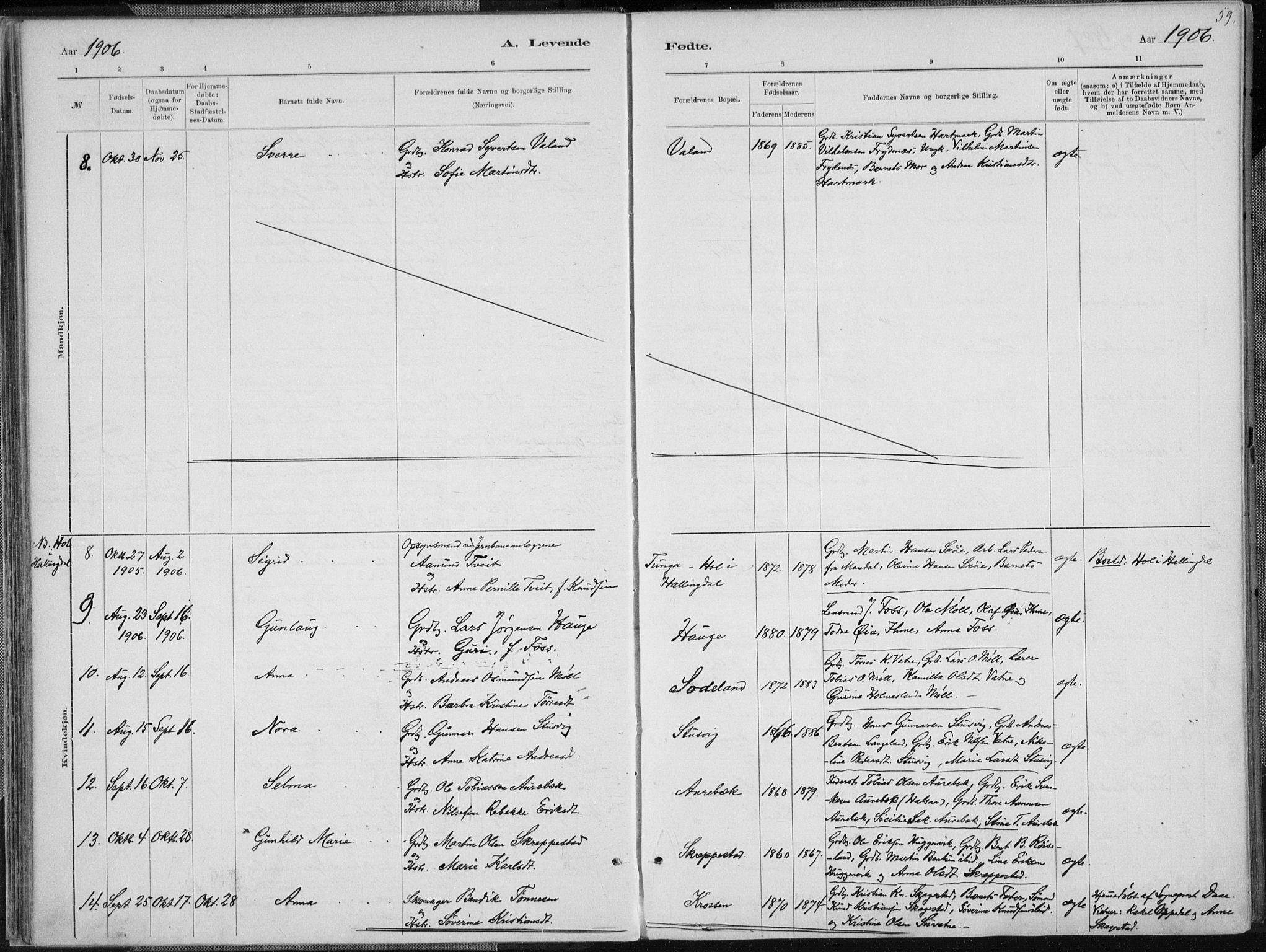 SAK, Holum sokneprestkontor, F/Fa/Faa/L0007: Ministerialbok nr. A 7, 1884-1907, s. 59