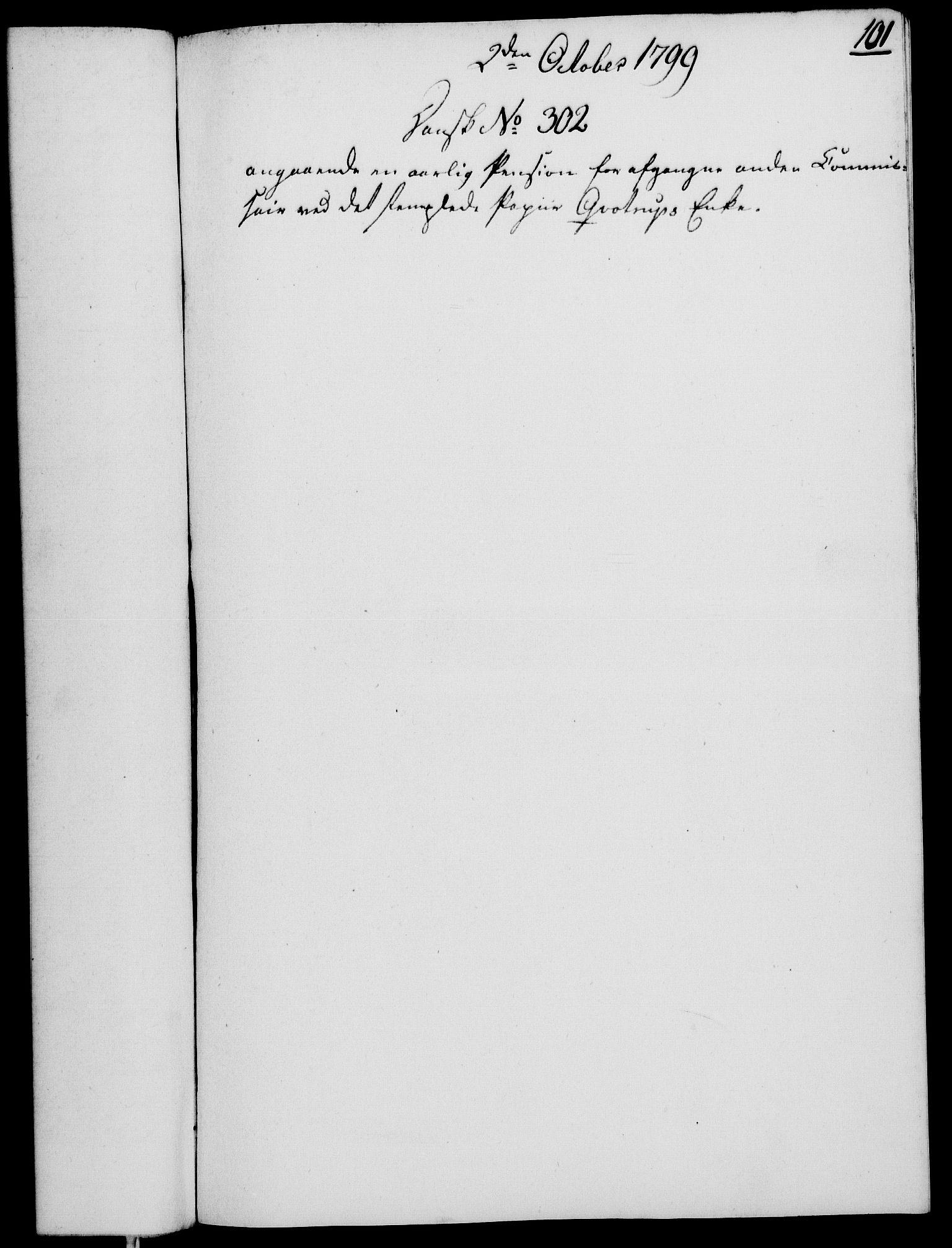 RA, Rentekammeret, Kammerkanselliet, G/Gf/Gfa/L0081: Norsk relasjons- og resolusjonsprotokoll (merket RK 52.81), 1799, s. 650