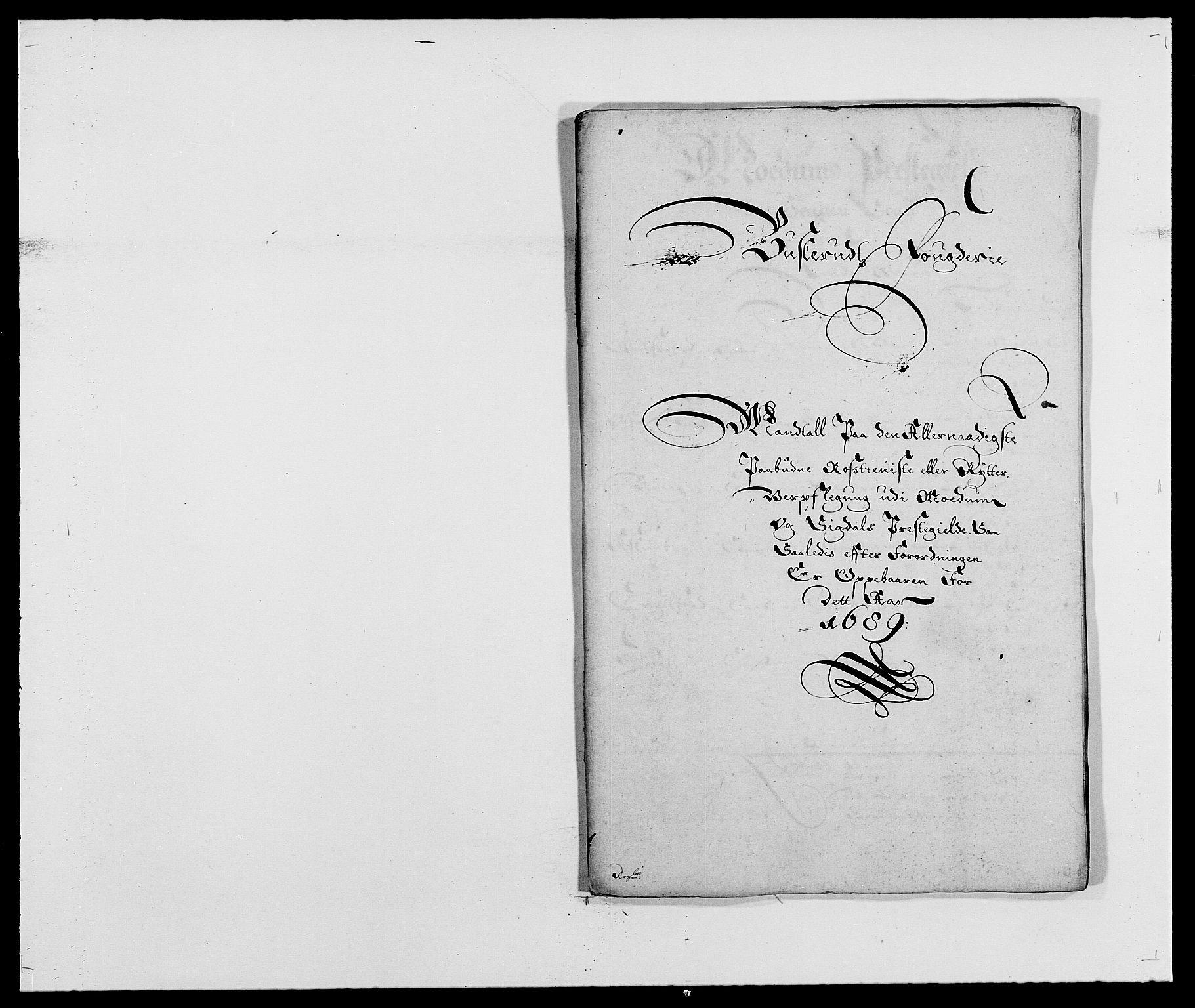 RA, Rentekammeret inntil 1814, Reviderte regnskaper, Fogderegnskap, R25/L1680: Fogderegnskap Buskerud, 1689-1690, s. 172