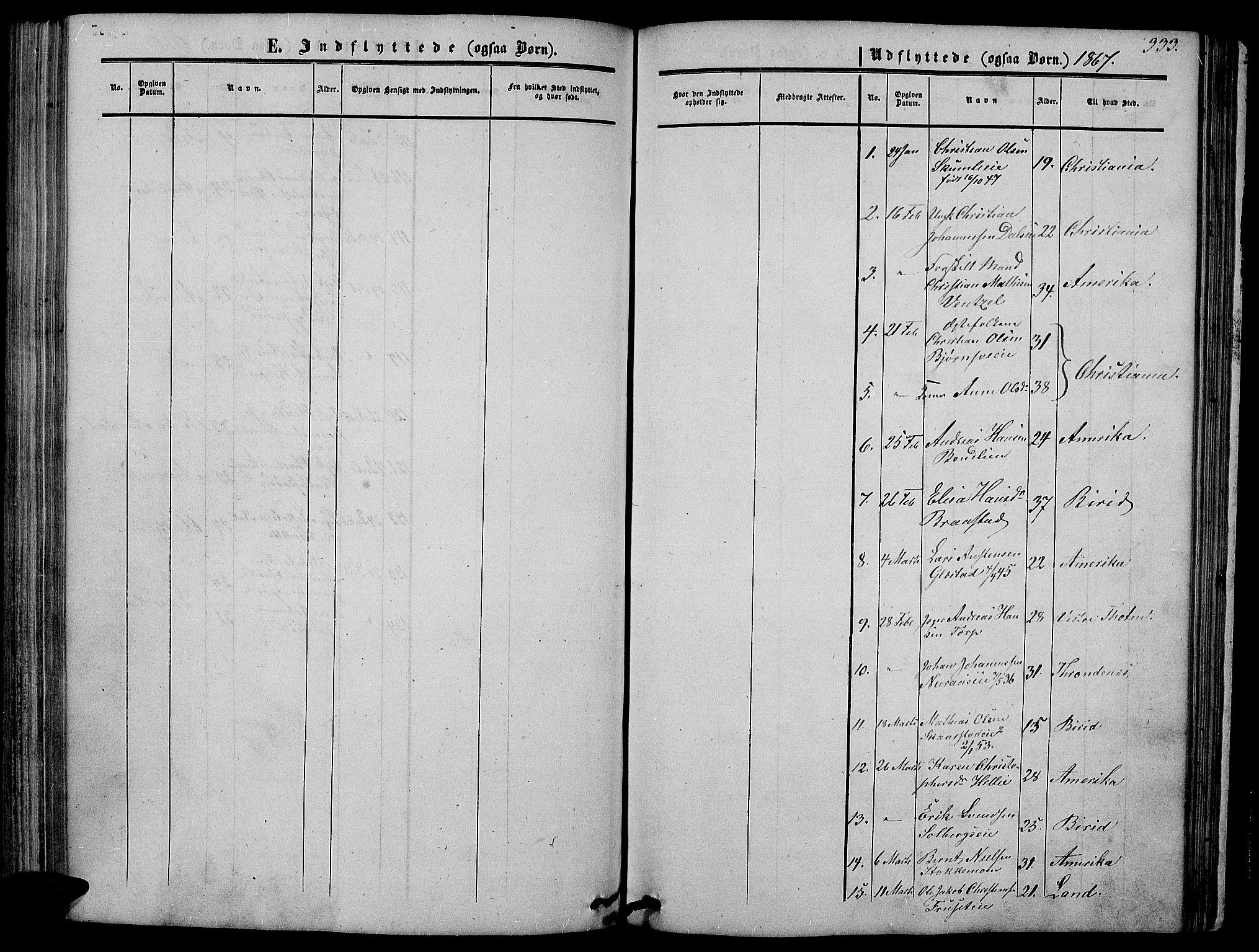 SAH, Vardal prestekontor, H/Ha/Hab/L0005: Klokkerbok nr. 5, 1854-1868, s. 333