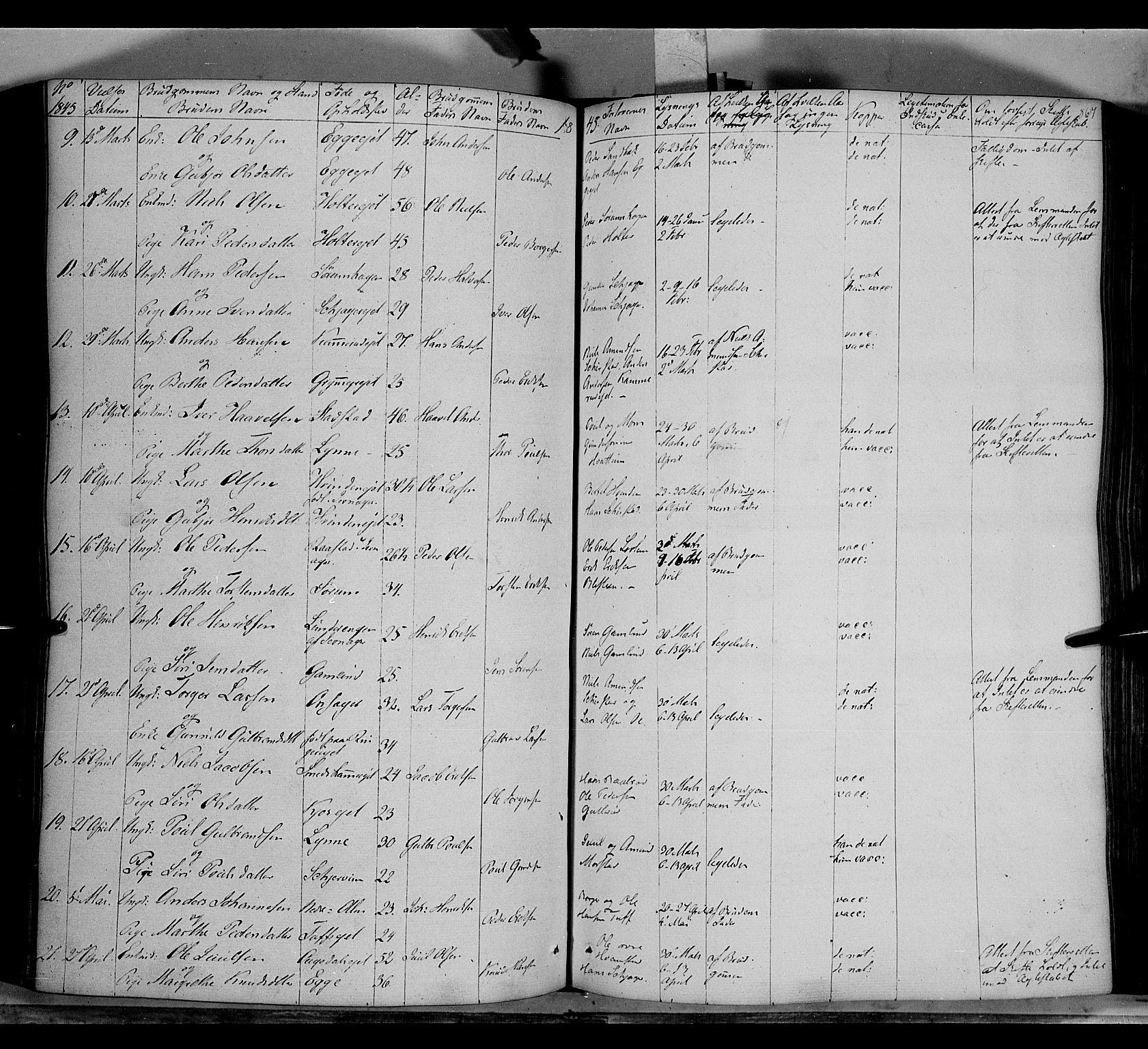 SAH, Gran prestekontor, Ministerialbok nr. 11, 1842-1856, s. 866-867
