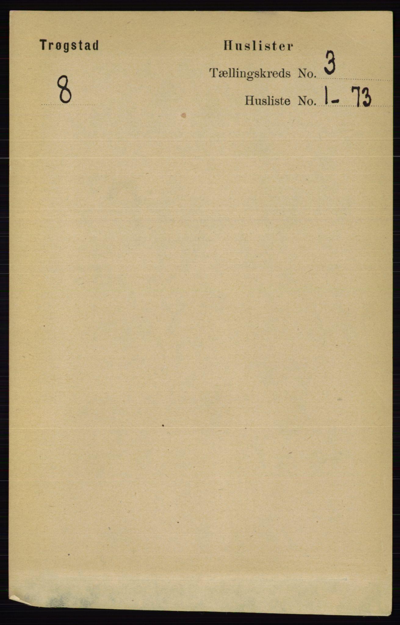 RA, Folketelling 1891 for 0122 Trøgstad herred, 1891, s. 1043