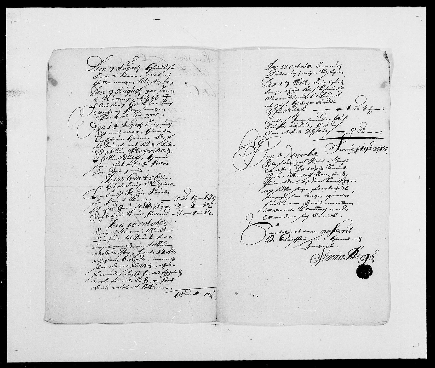 RA, Rentekammeret inntil 1814, Reviderte regnskaper, Fogderegnskap, R24/L1573: Fogderegnskap Numedal og Sandsvær, 1687-1691, s. 424