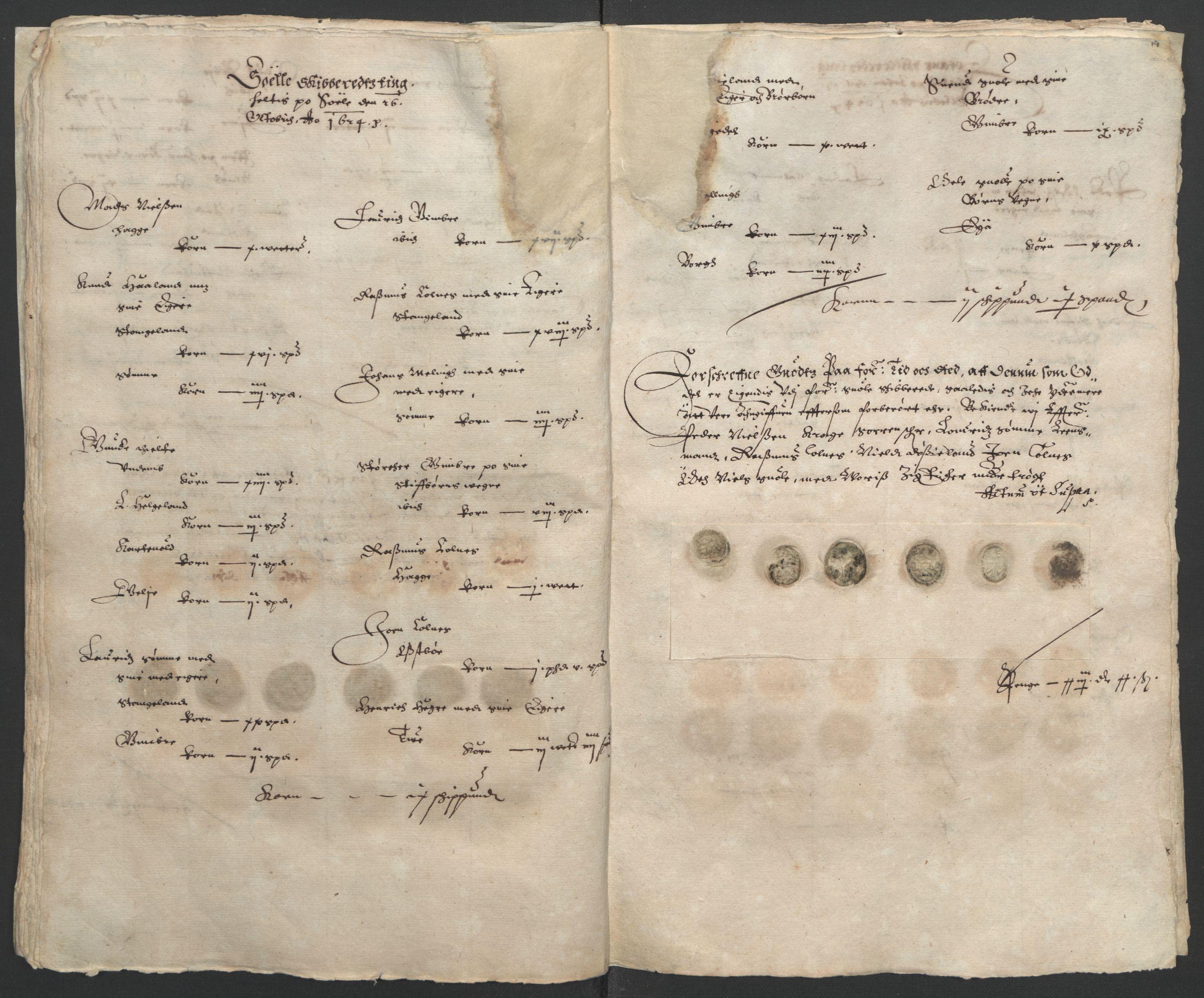 RA, Stattholderembetet 1572-1771, Ek/L0010: Jordebøker til utlikning av rosstjeneste 1624-1626:, 1624-1626, s. 53