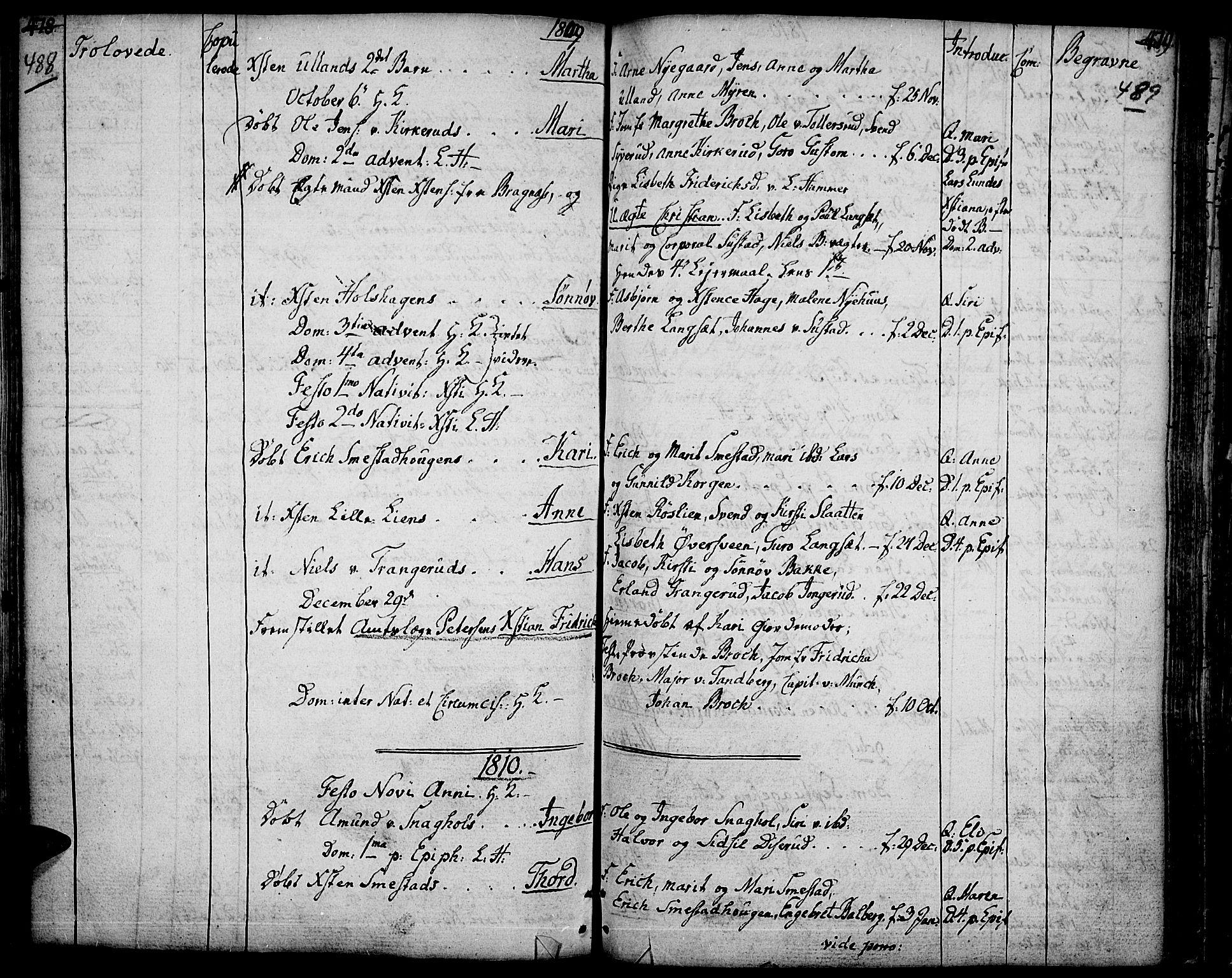 SAH, Fåberg prestekontor, Ministerialbok nr. 2, 1775-1818, s. 488-489