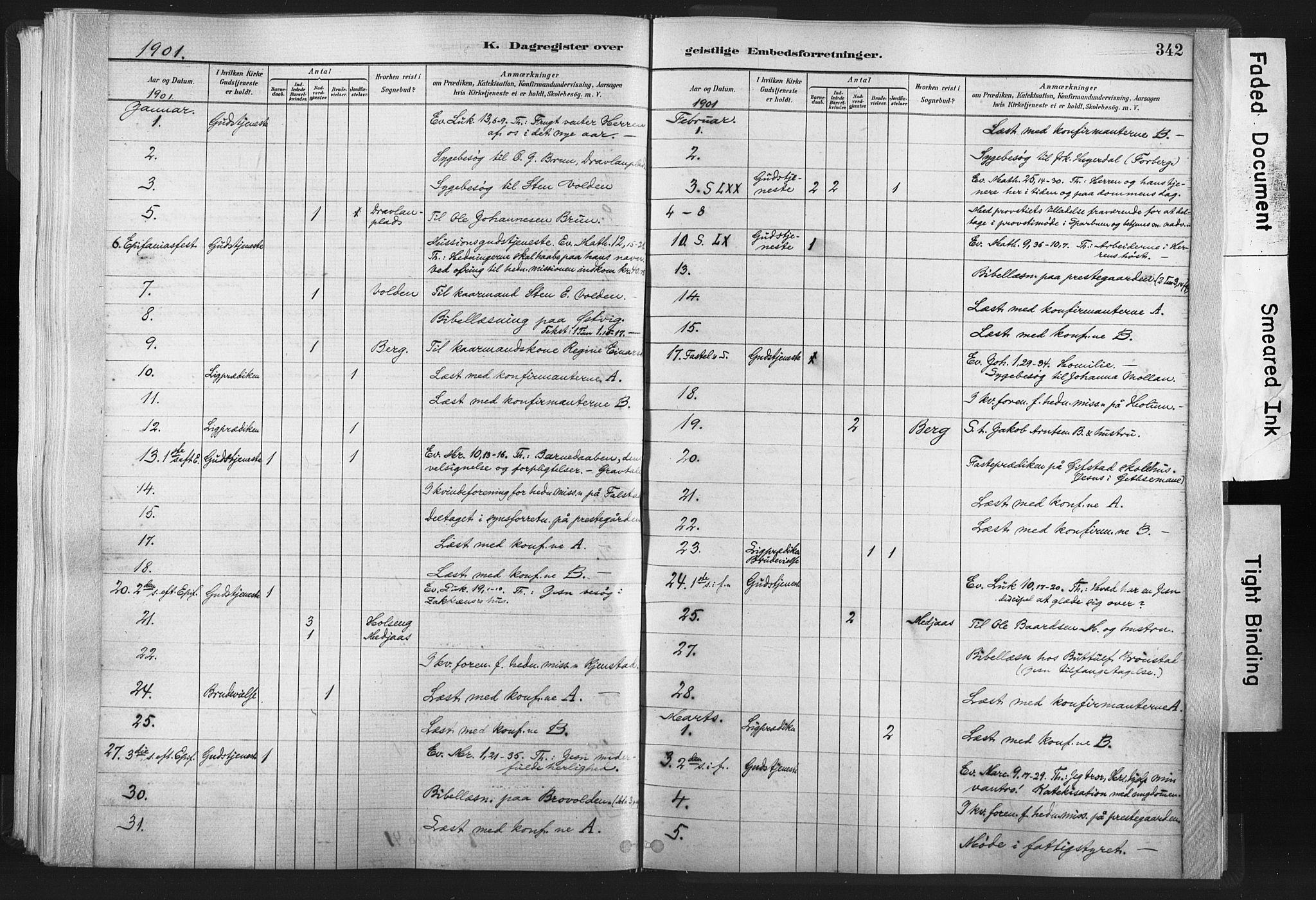 SAT, Ministerialprotokoller, klokkerbøker og fødselsregistre - Nord-Trøndelag, 749/L0474: Ministerialbok nr. 749A08, 1887-1903, s. 342