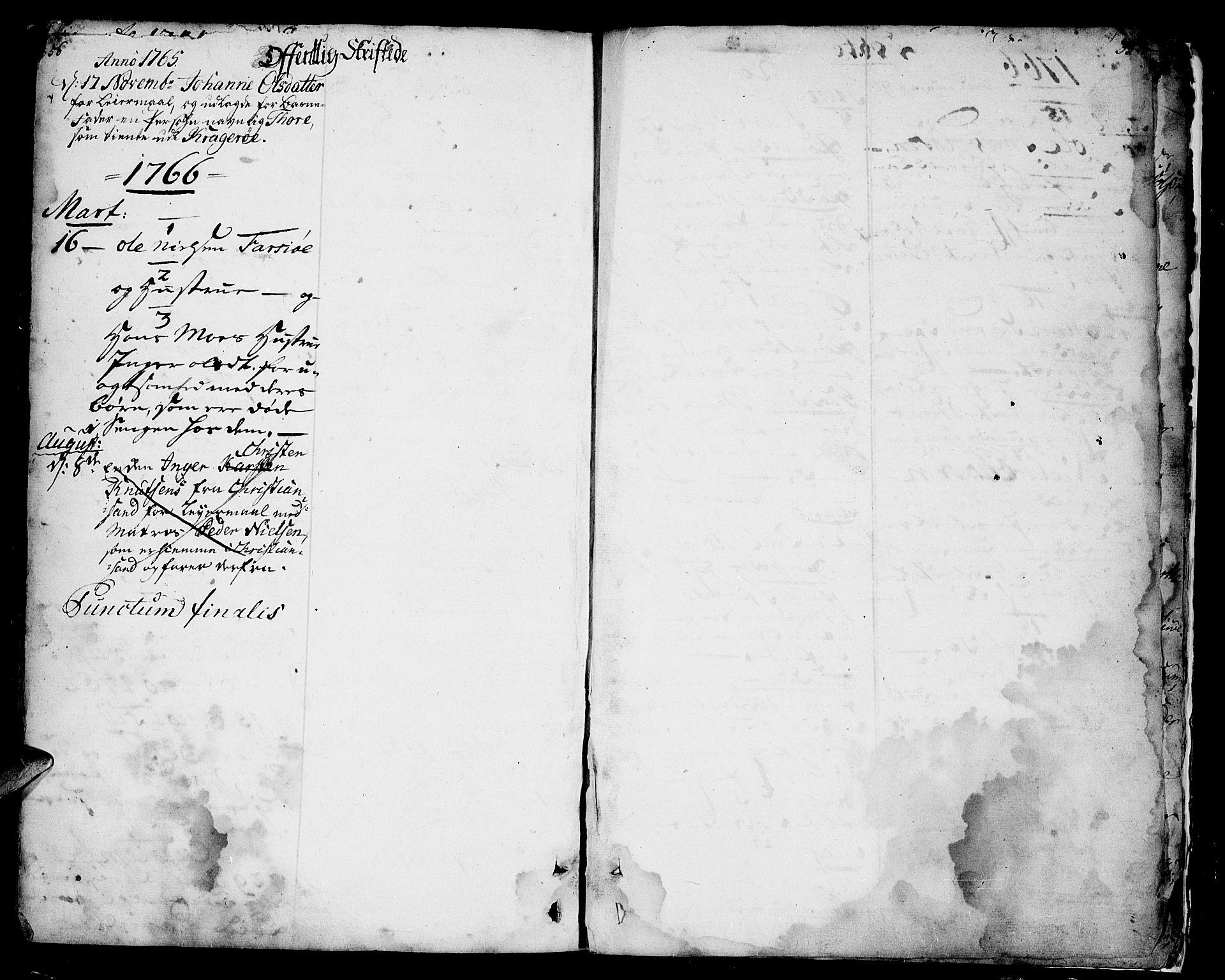 SAKO, Sannidal kirkebøker, F/Fa/L0001: Ministerialbok nr. 1, 1702-1766, s. 356-357