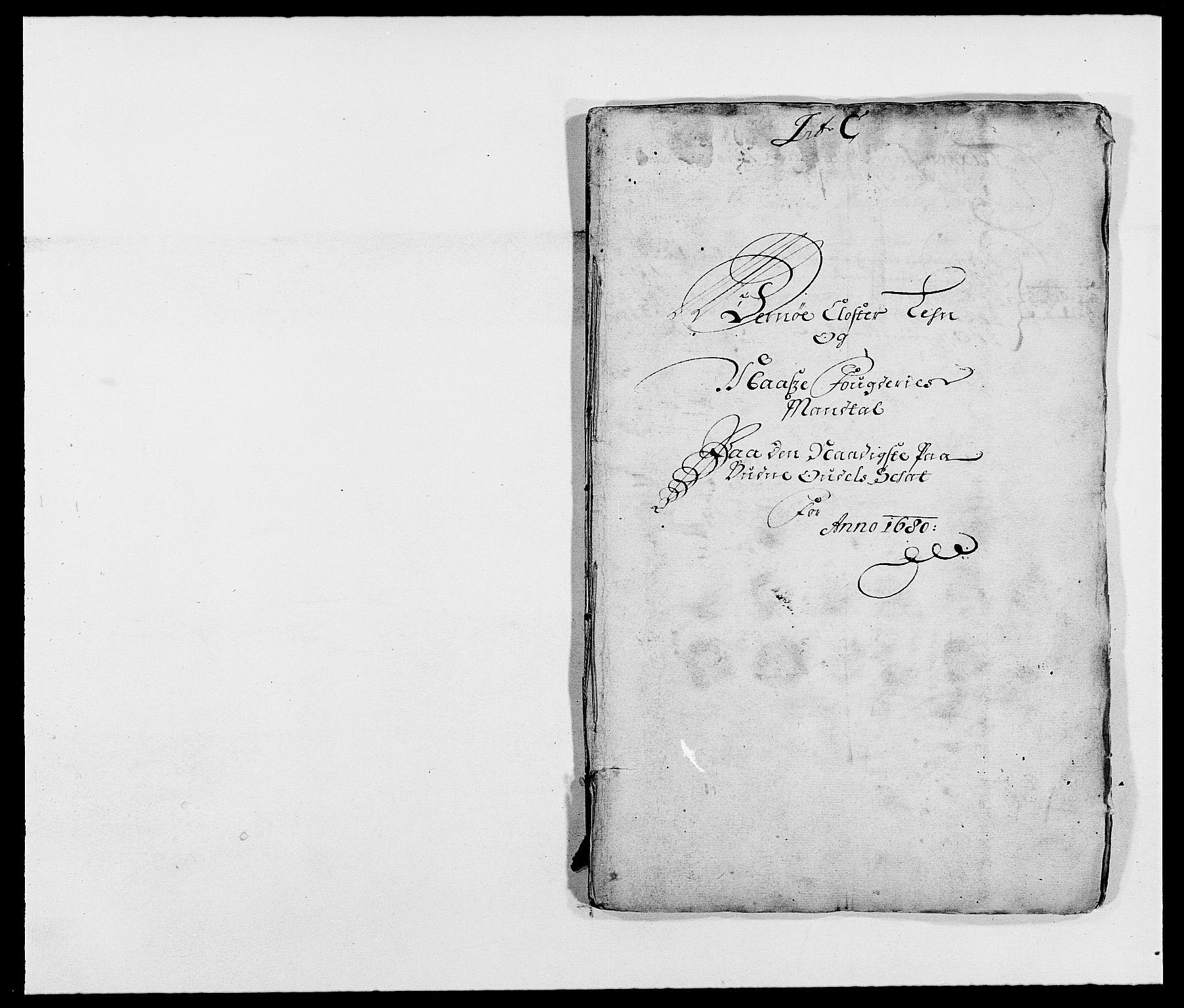 RA, Rentekammeret inntil 1814, Reviderte regnskaper, Fogderegnskap, R02/L0101: Fogderegnskap Moss og Verne kloster, 1680, s. 67