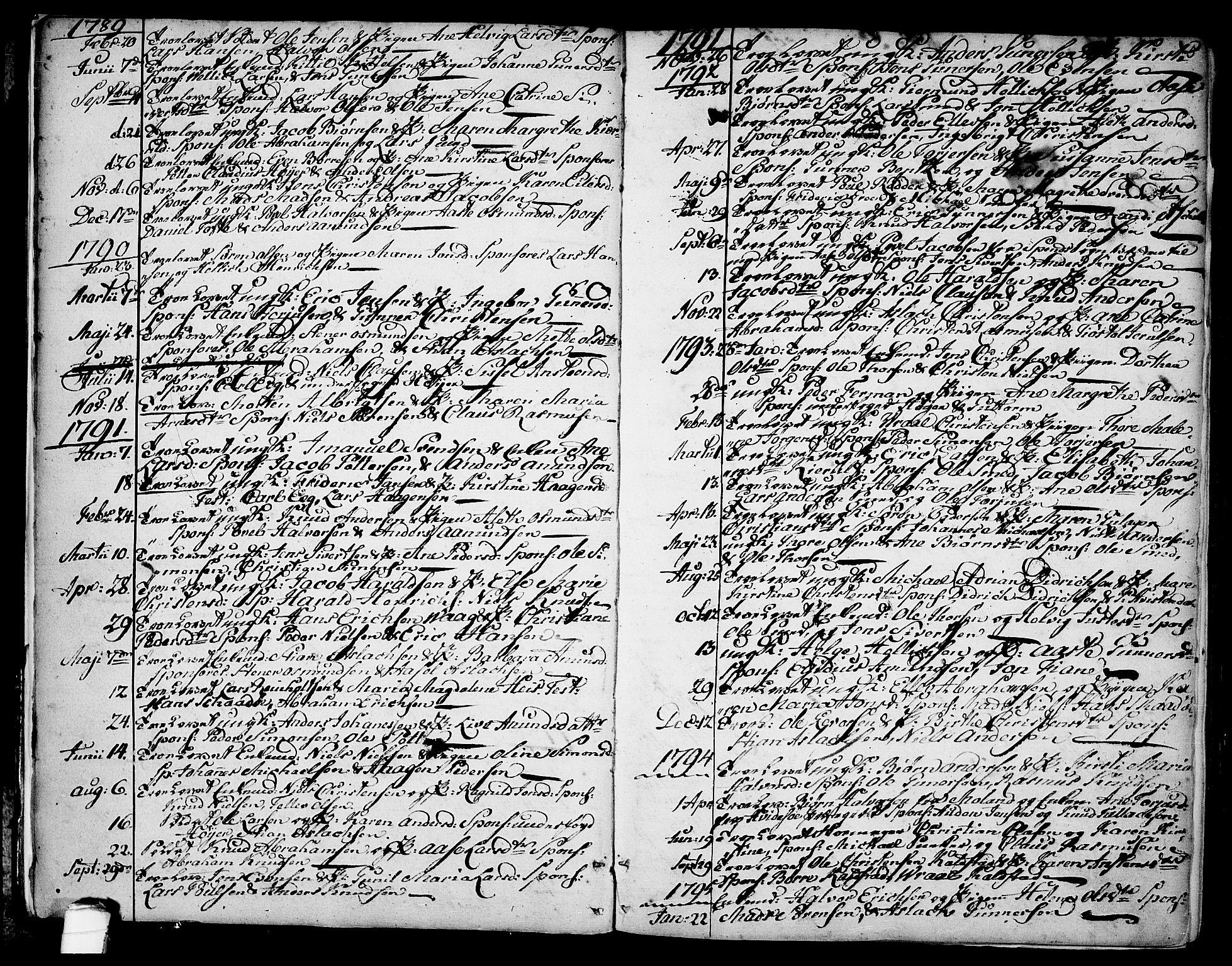 SAKO, Kragerø kirkebøker, F/Fa/L0002: Ministerialbok nr. 2, 1767-1802, s. 5