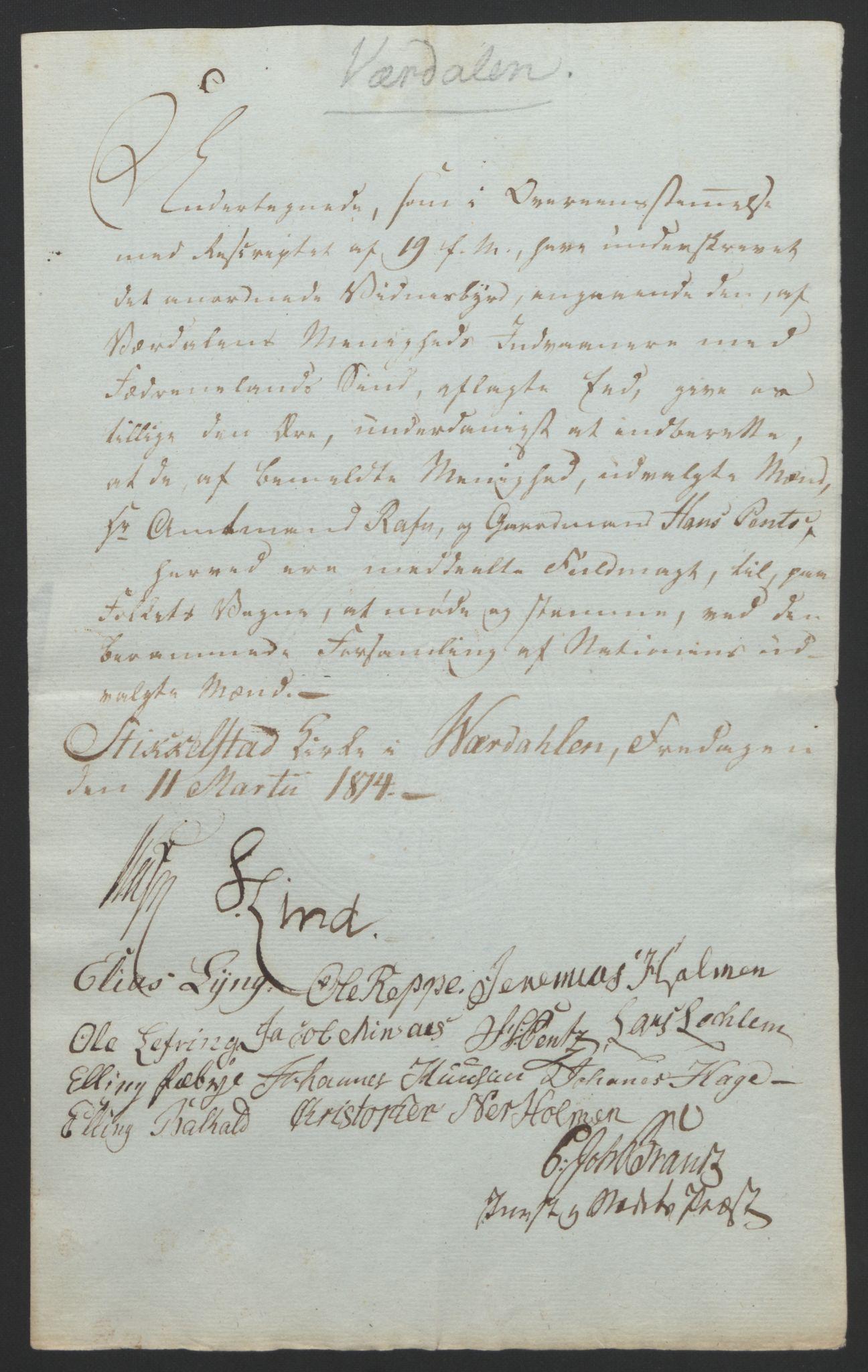 RA, Statsrådssekretariatet, D/Db/L0008: Fullmakter for Eidsvollsrepresentantene i 1814. , 1814, s. 482