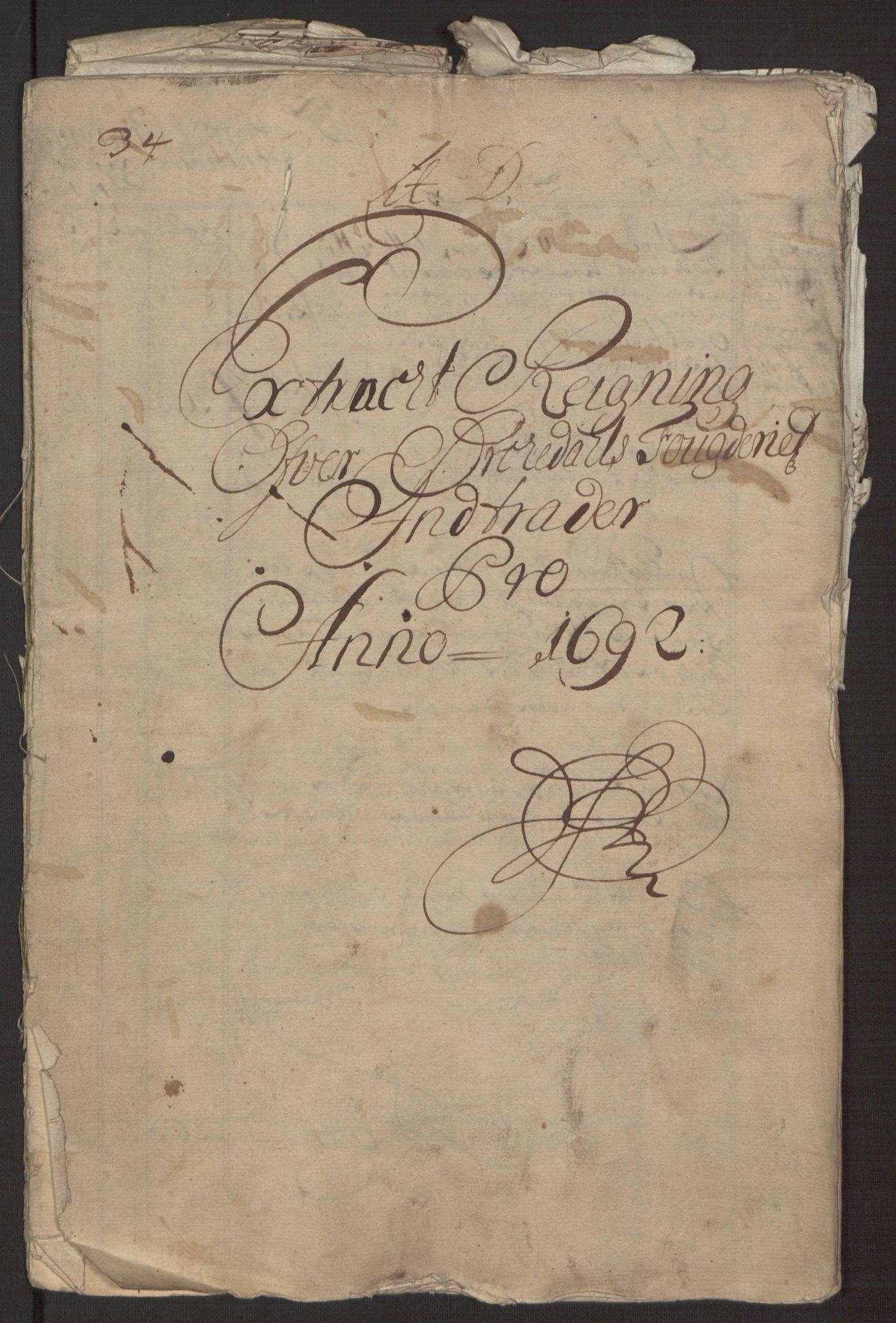 RA, Rentekammeret inntil 1814, Reviderte regnskaper, Fogderegnskap, R58/L3937: Fogderegnskap Orkdal, 1691-1692, s. 176