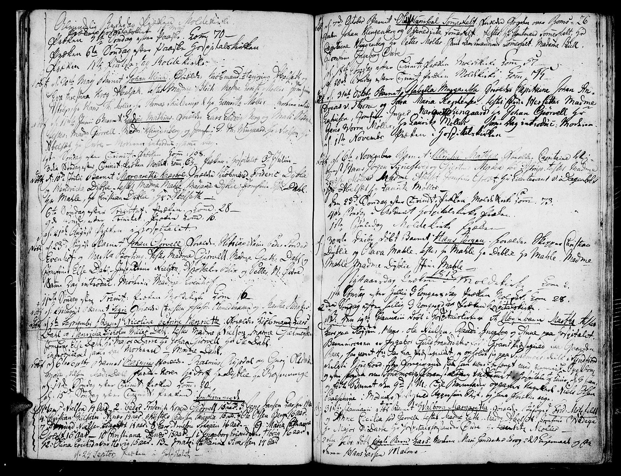 SAT, Ministerialprotokoller, klokkerbøker og fødselsregistre - Møre og Romsdal, 558/L0687: Ministerialbok nr. 558A01, 1798-1818, s. 26