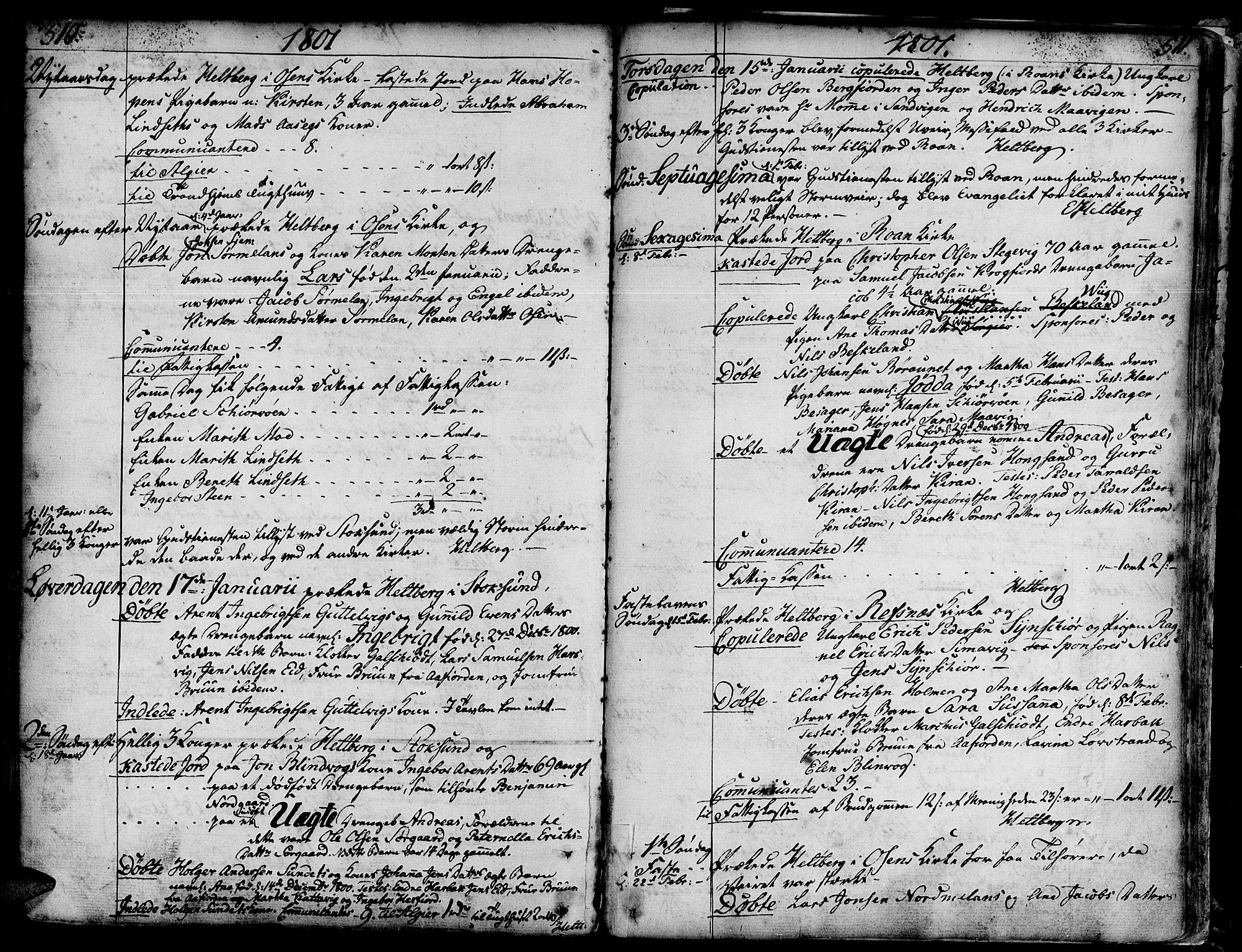 SAT, Ministerialprotokoller, klokkerbøker og fødselsregistre - Sør-Trøndelag, 657/L0700: Ministerialbok nr. 657A01, 1732-1801, s. 510-511