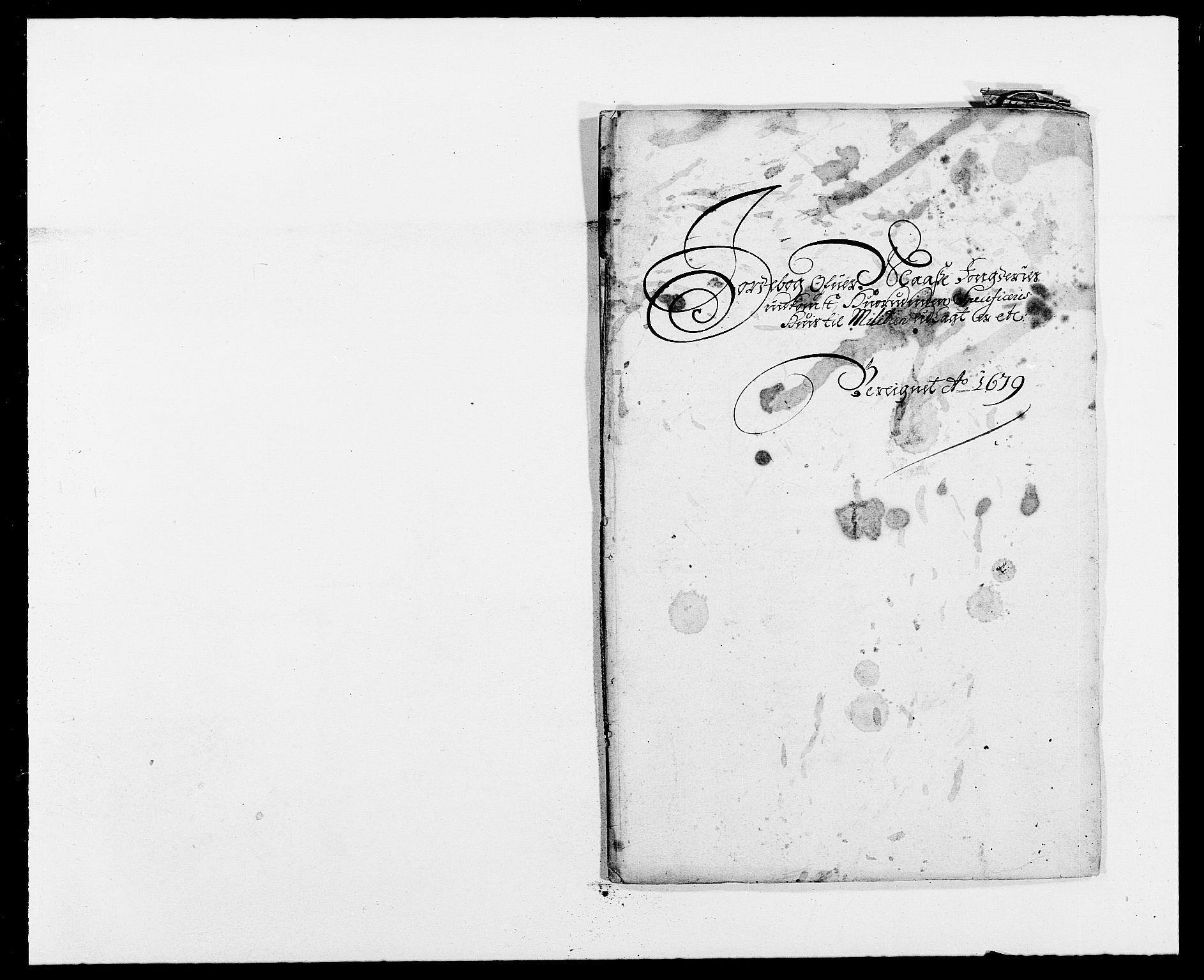 RA, Rentekammeret inntil 1814, Reviderte regnskaper, Fogderegnskap, R02/L0100: Fogderegnskap Moss og Verne kloster, 1679, s. 116