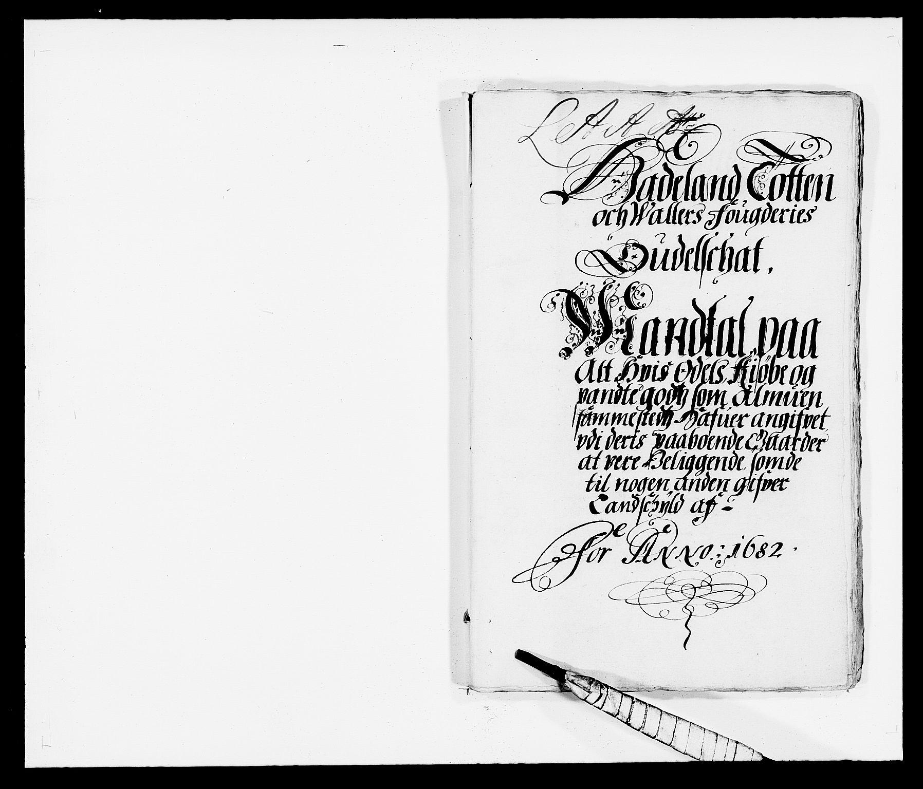 RA, Rentekammeret inntil 1814, Reviderte regnskaper, Fogderegnskap, R18/L1281: Fogderegnskap Hadeland, Toten og Valdres, 1682, s. 48