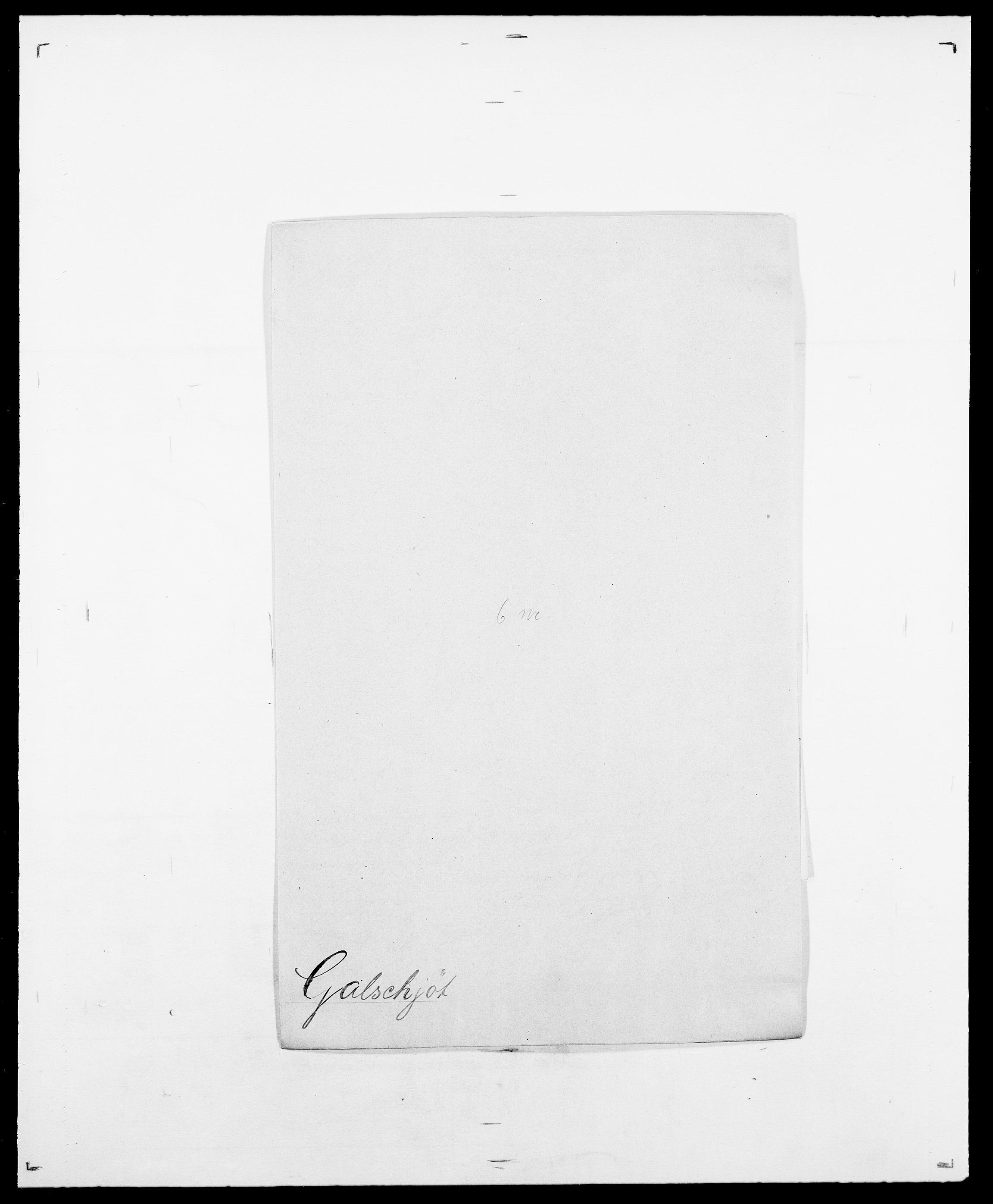 SAO, Delgobe, Charles Antoine - samling, D/Da/L0013: Forbos - Geving, s. 410