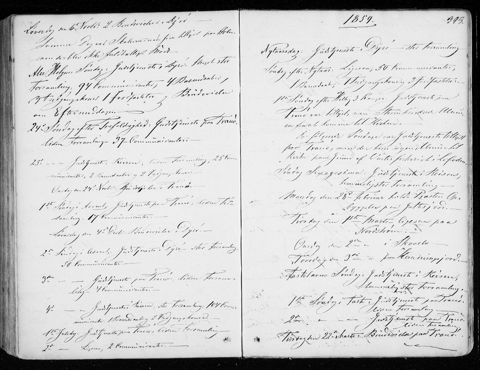 SATØ, Tranøy sokneprestkontor, I/Ia/Iaa/L0007kirke: Ministerialbok nr. 7, 1856-1866, s. 398