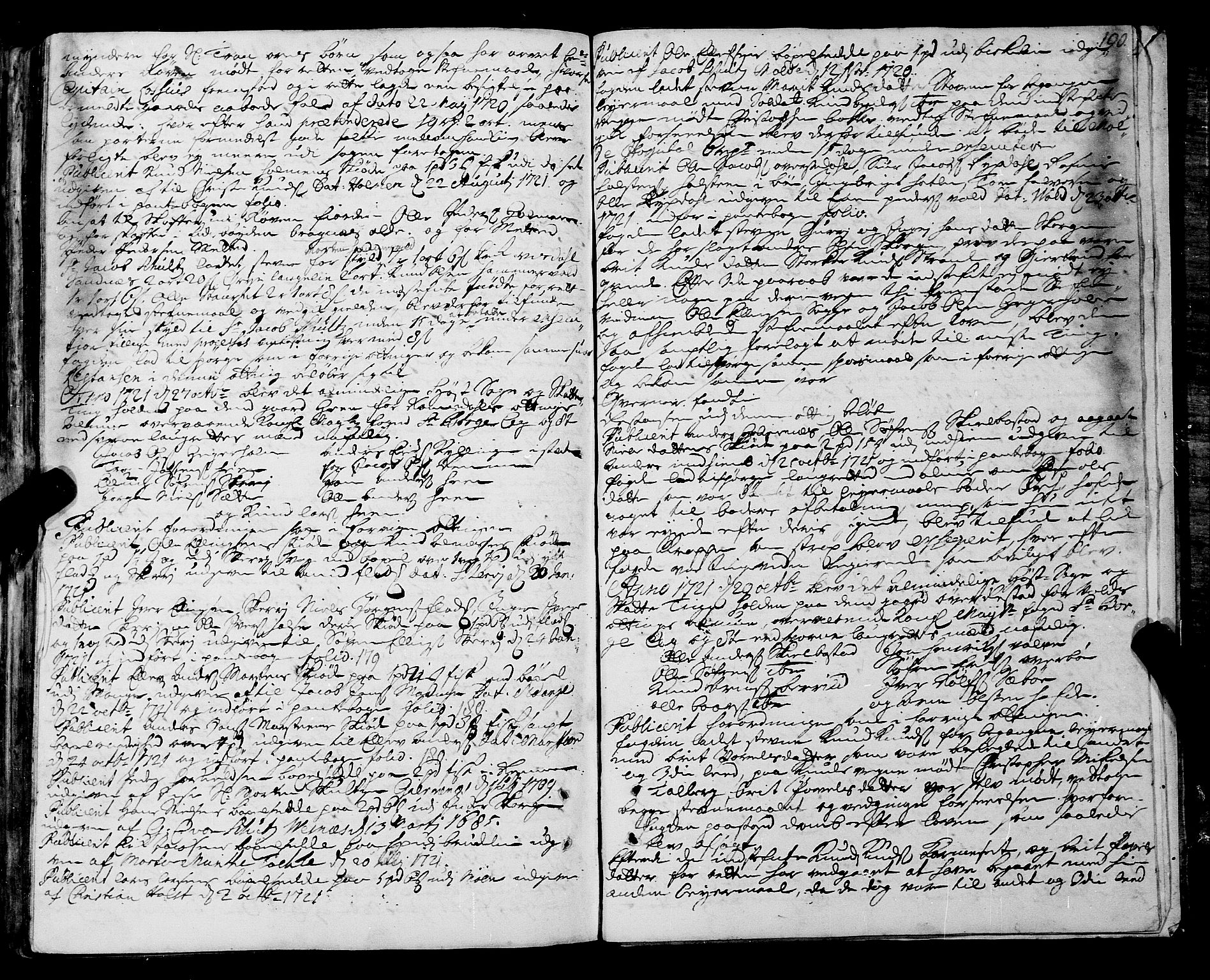 SAT, Romsdal sorenskriveri, 1/1A/L0008: Tingbok, 1714-1721, s. 189b-190a