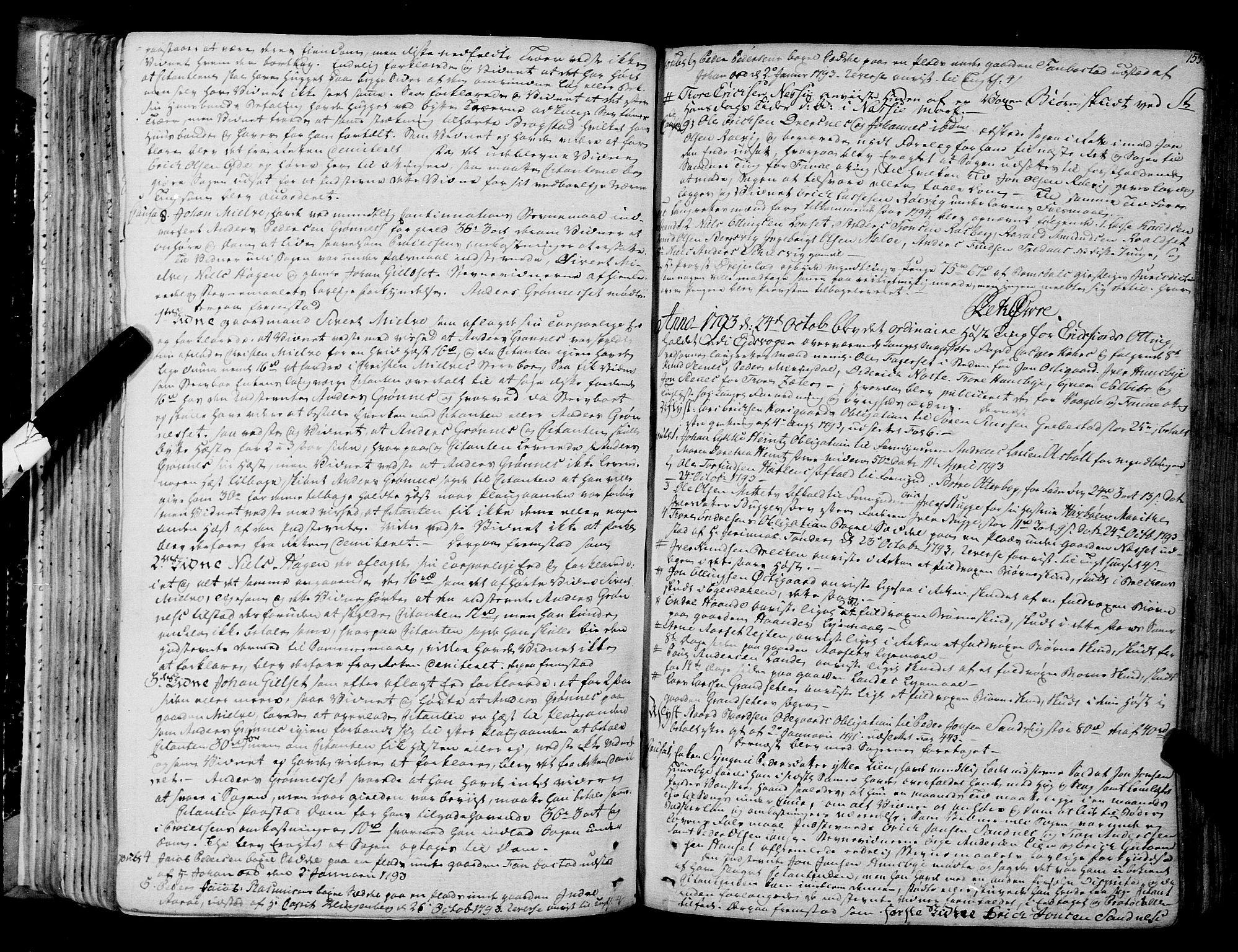 SAT, Romsdal sorenskriveri, 1/1A/L0017: Tingbok, 1789-1803, s. 154b-155a
