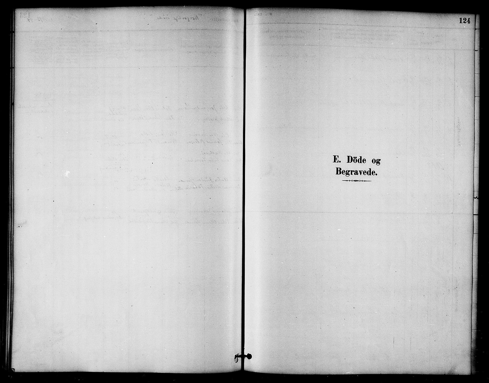SAT, Ministerialprotokoller, klokkerbøker og fødselsregistre - Nord-Trøndelag, 764/L0555: Ministerialbok nr. 764A10, 1881-1896, s. 124