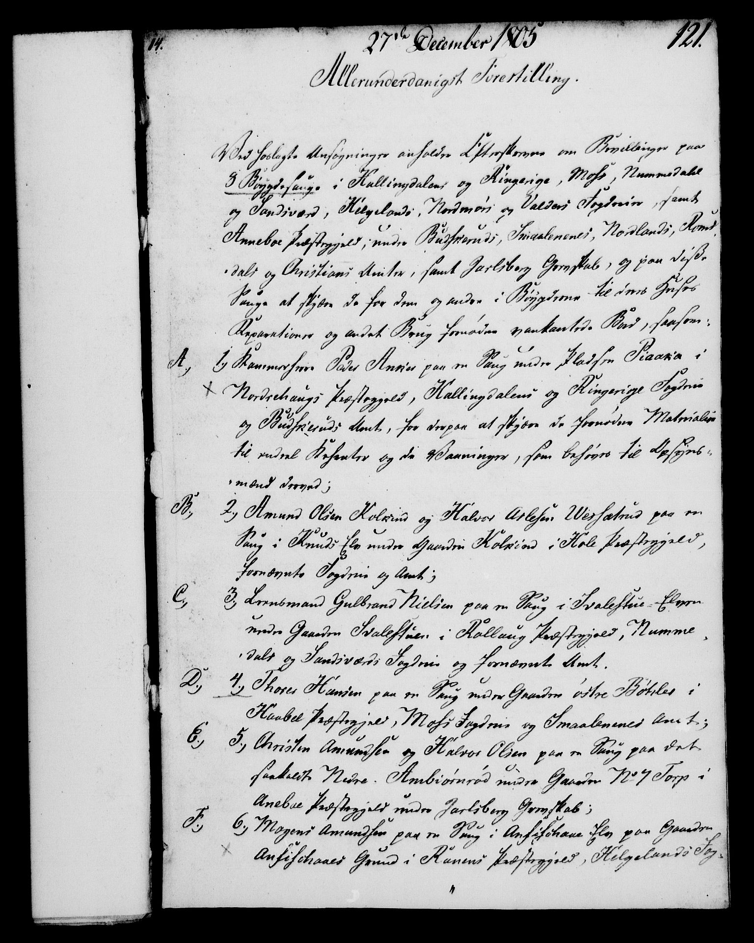 RA, Rentekammeret, Kammerkanselliet, G/Gf/Gfa/L0087: Norsk relasjons- og resolusjonsprotokoll (merket RK 52.87), 1805, s. 670