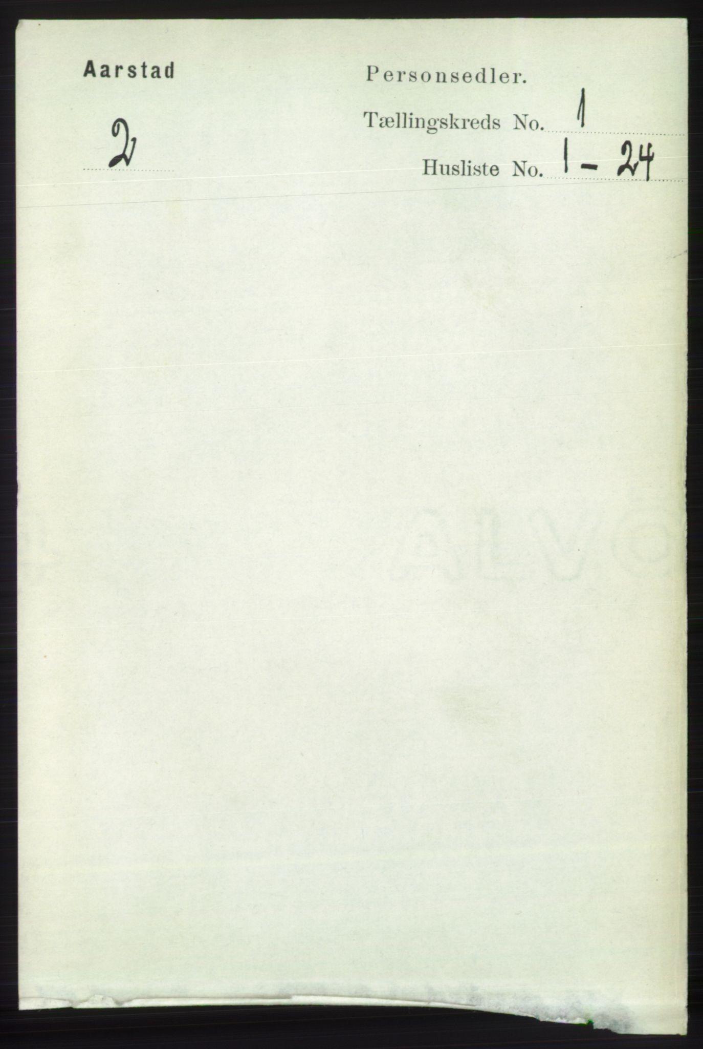 SAB, Folketelling 1891 for 1280 Årstad herred, 1891, s. 103