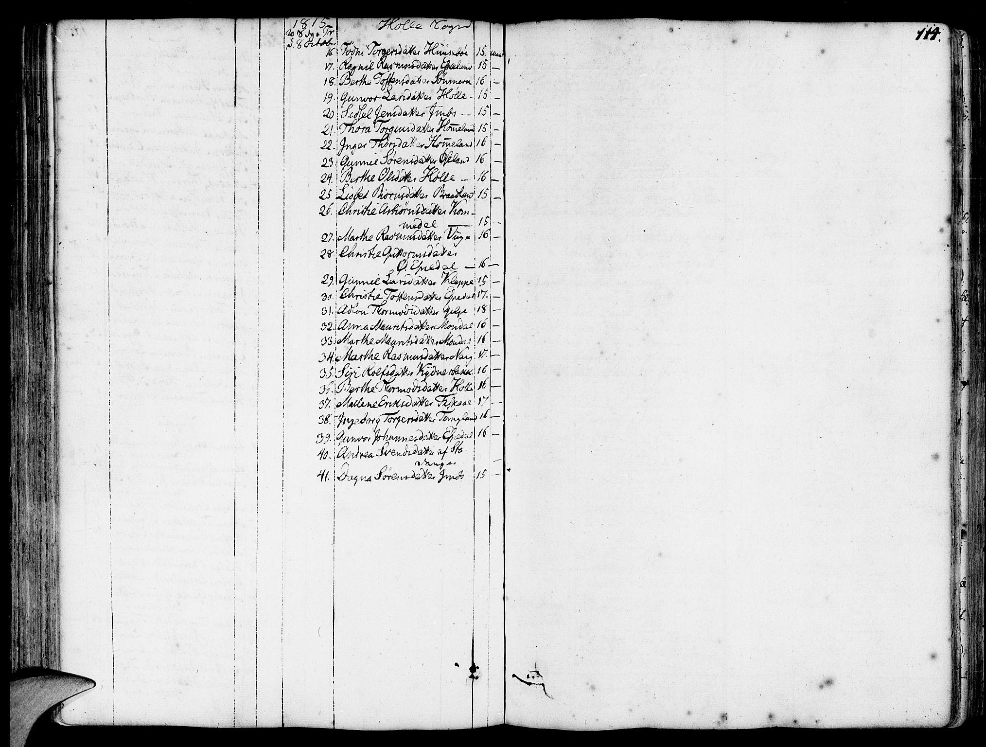 SAST, Strand sokneprestkontor, H/Ha/Haa/L0003: Ministerialbok nr. A 3, 1769-1816, s. 114