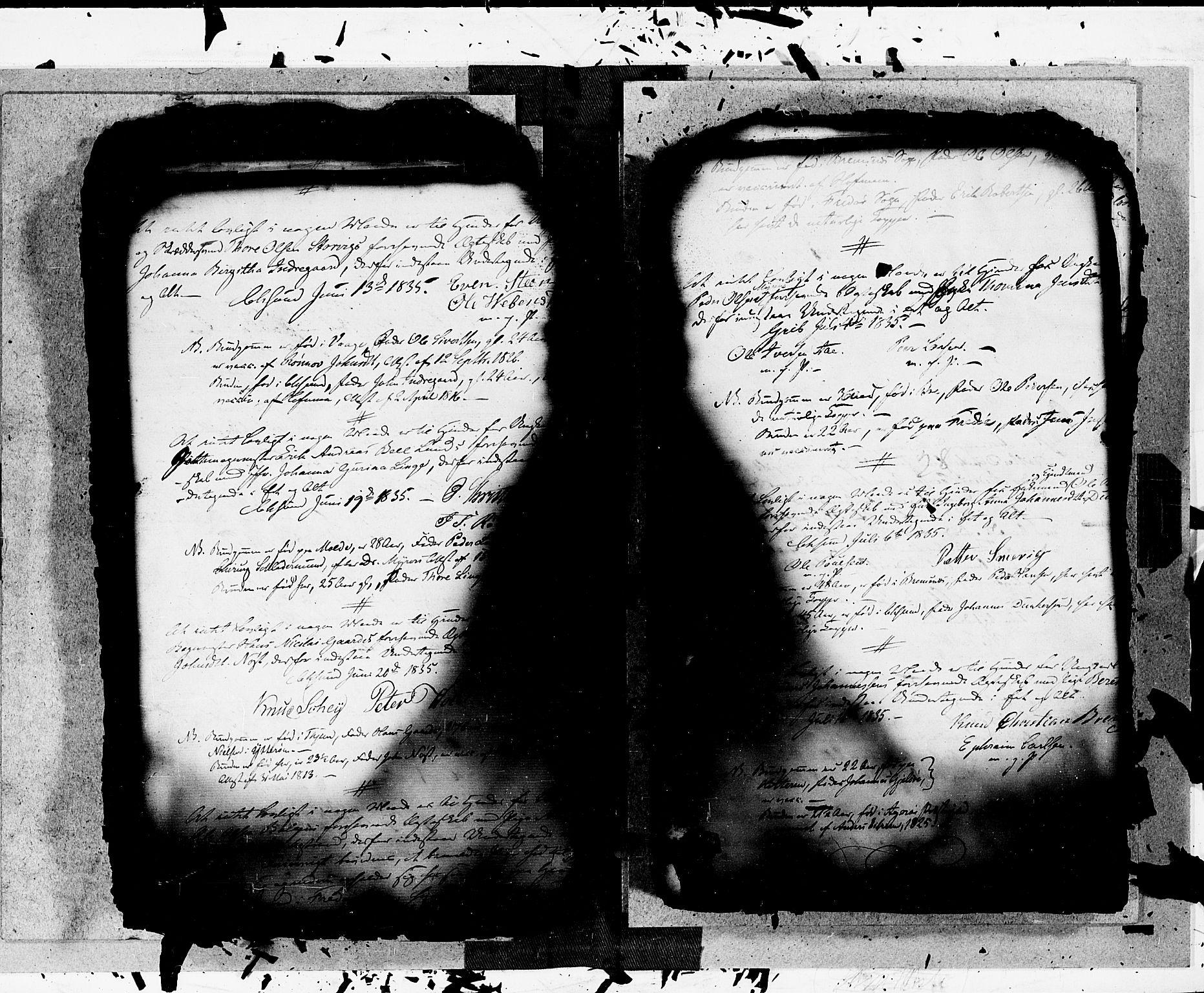 SAT, Arkivreferanse ukjent*, Forlovererklæringer nr. 15, 1828-1846, s. 28
