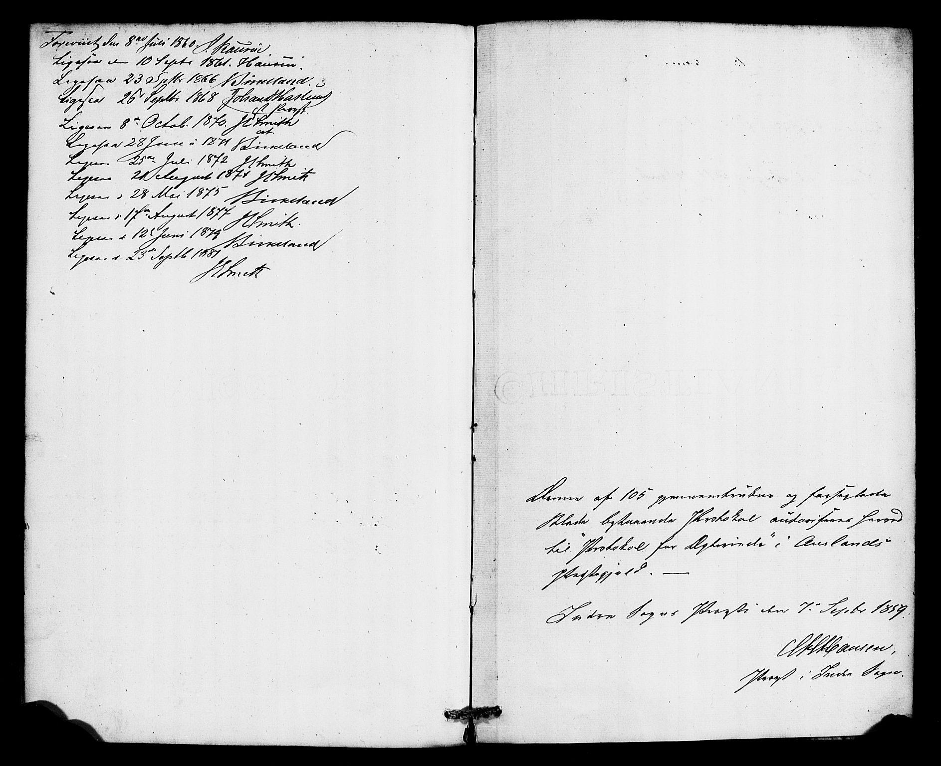SAB, Aurland Sokneprestembete*, Ministerialbok nr. A 10, 1859-1879, s. 45