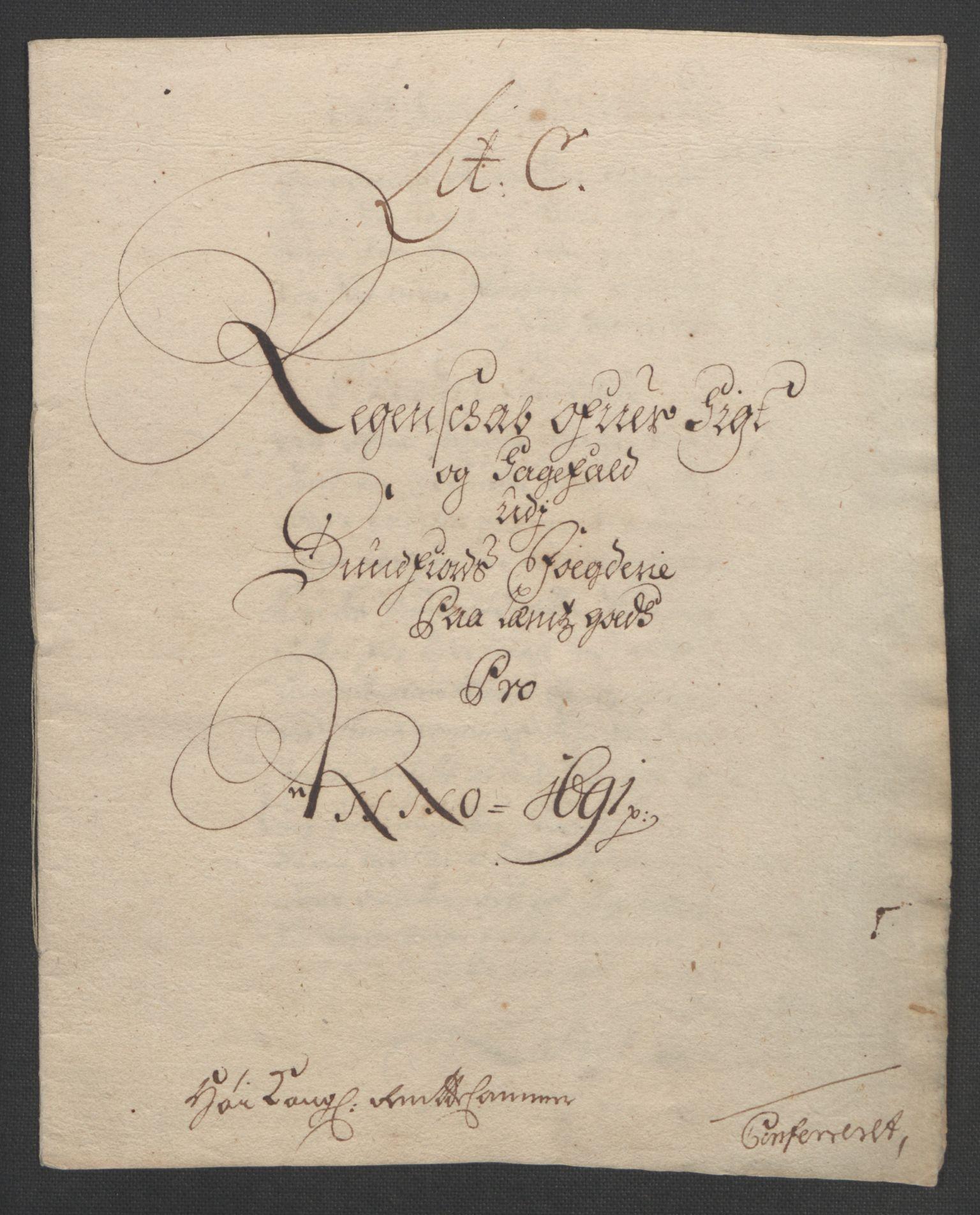 RA, Rentekammeret inntil 1814, Reviderte regnskaper, Fogderegnskap, R53/L3420: Fogderegnskap Sunn- og Nordfjord, 1691-1692, s. 81