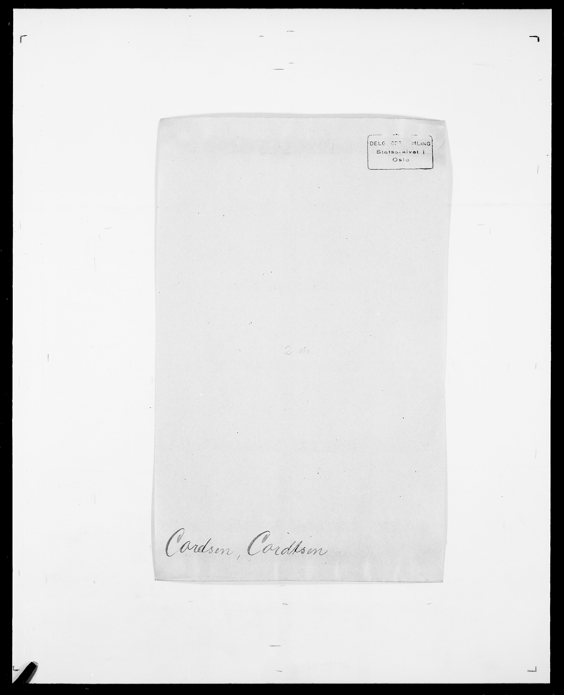 SAO, Delgobe, Charles Antoine - samling, D/Da/L0008: Capjon - Dagenbolt, s. 526