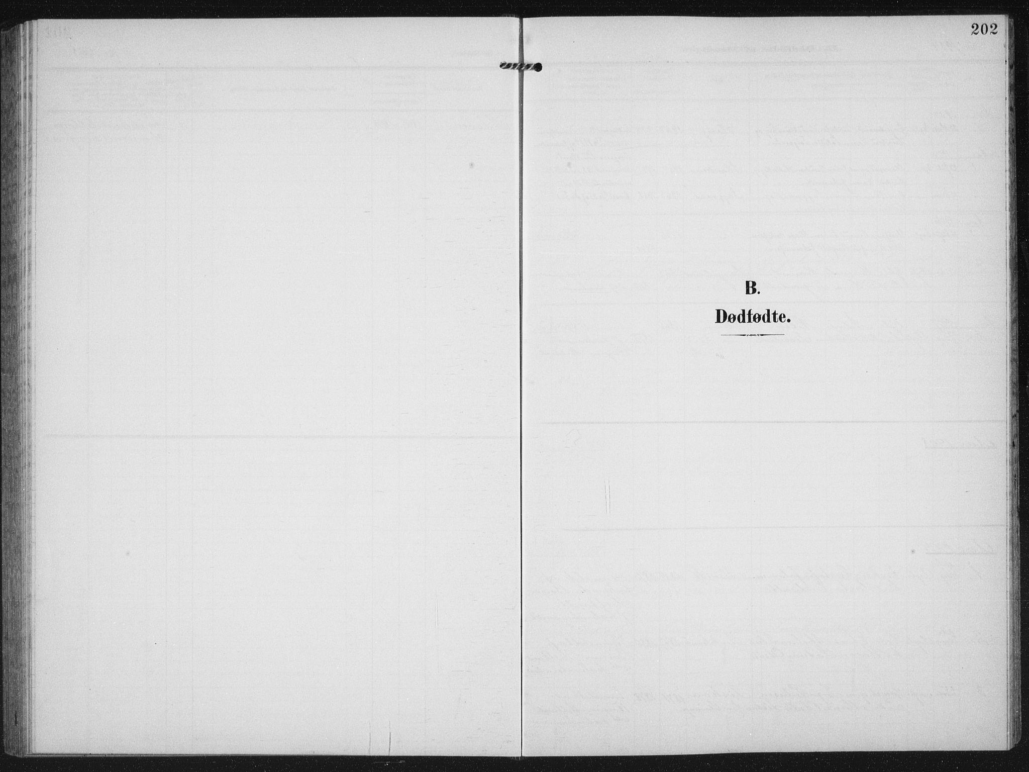 SAST, Strand sokneprestkontor, H/Ha/Hab/L0005: Klokkerbok nr. B 5, 1904-1934, s. 202