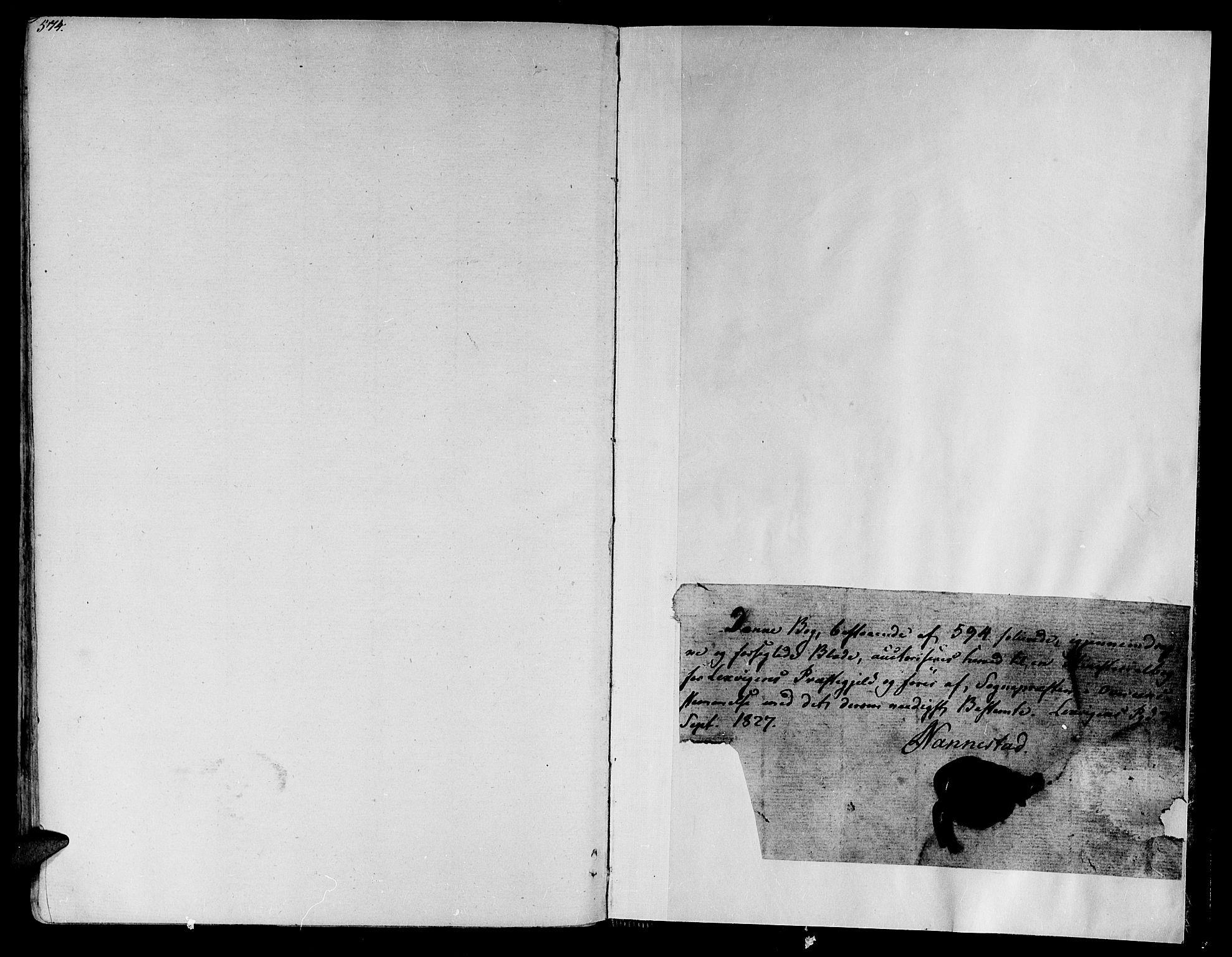 SAT, Ministerialprotokoller, klokkerbøker og fødselsregistre - Nord-Trøndelag, 701/L0006: Ministerialbok nr. 701A06, 1825-1841, s. 574