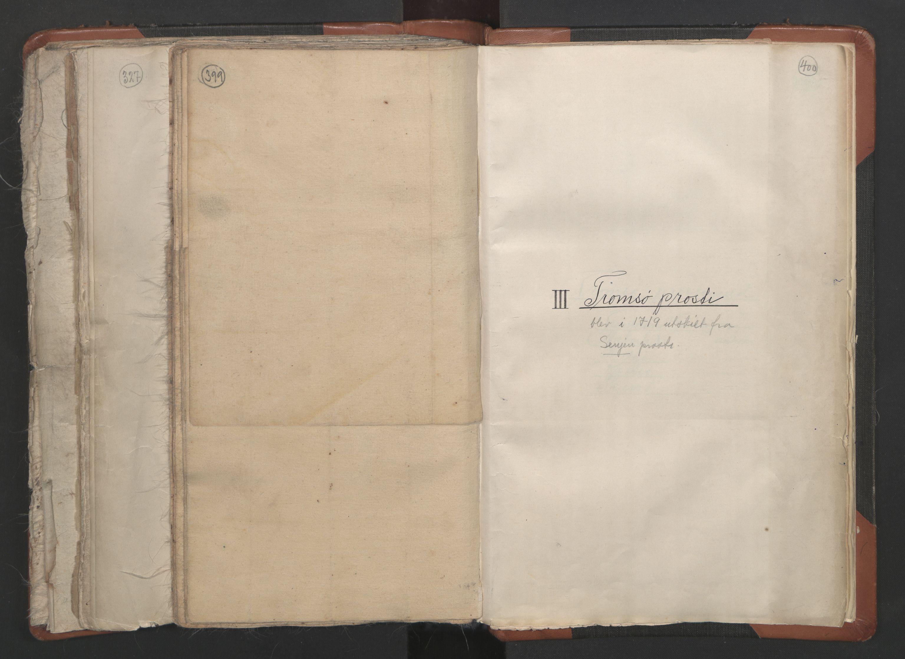 RA, Sogneprestenes manntall 1664-1666, nr. 36: Lofoten og Vesterålen prosti, Senja prosti og Troms prosti, 1664-1666, s. 399-400